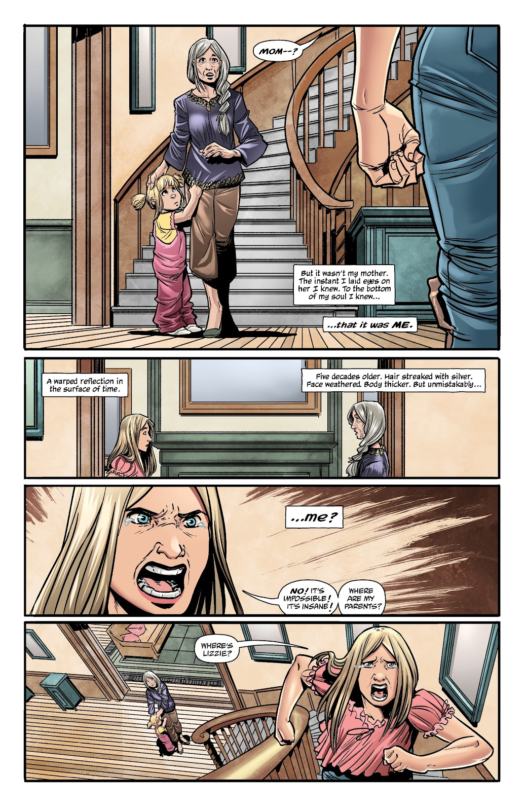 Read online The Girl In The Bay comic -  Issue #1 - 22