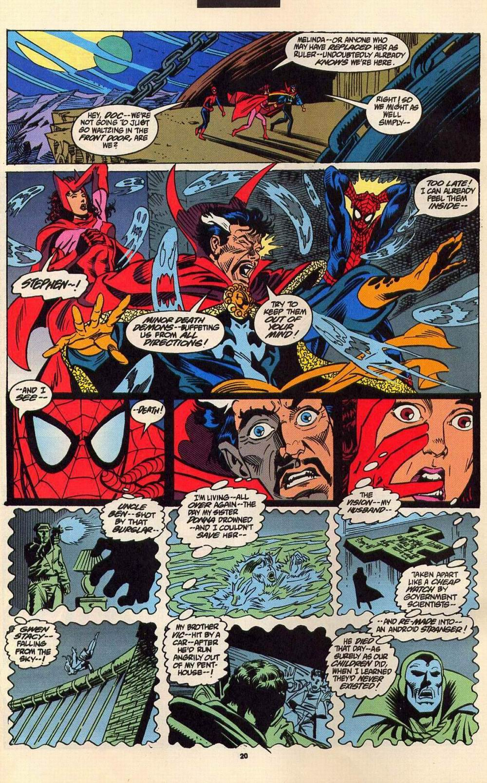Read online Secret Defenders comic -  Issue #6 - 17