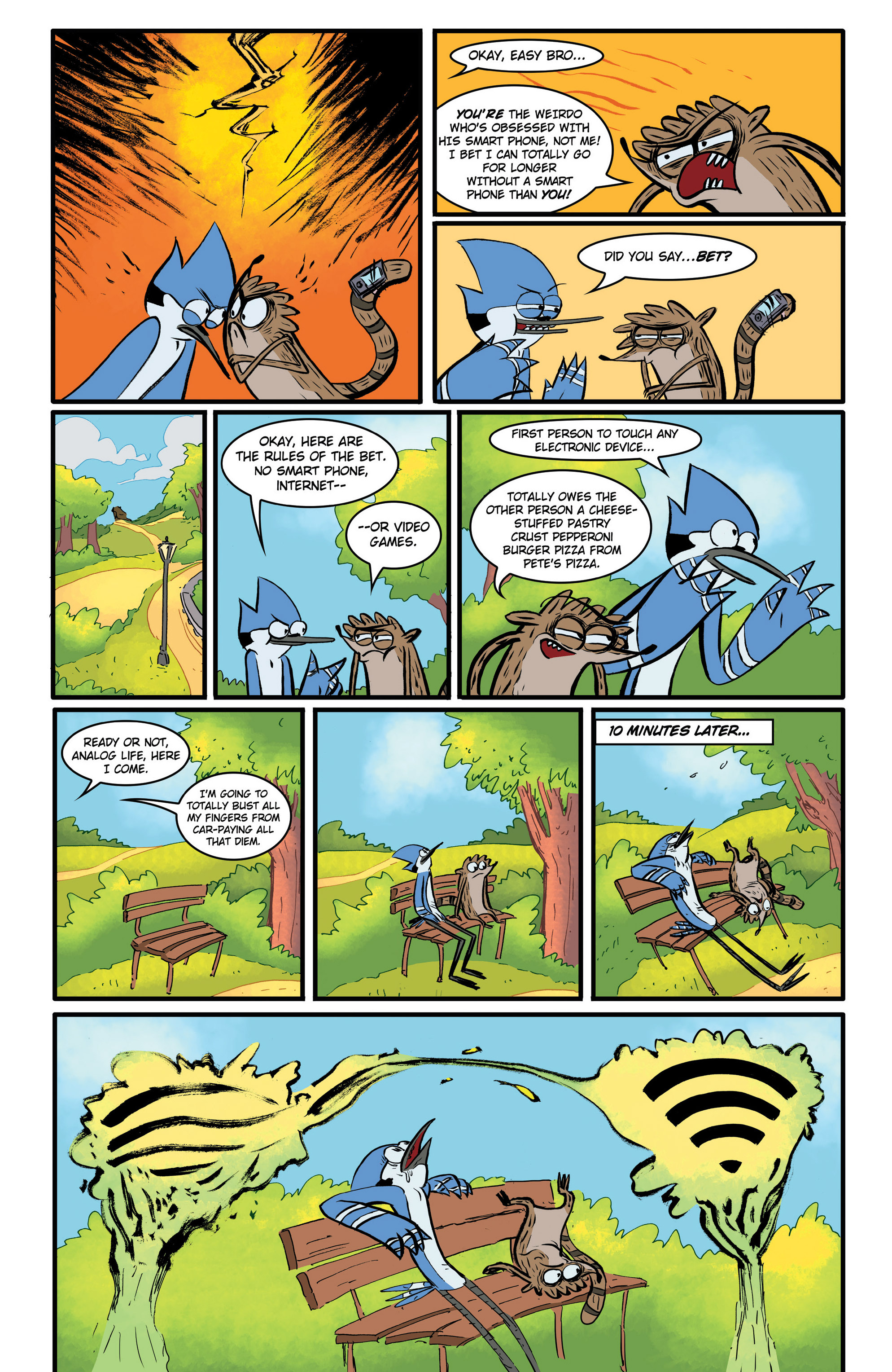 Read online Regular Show comic -  Issue # _Annual 1 - 10