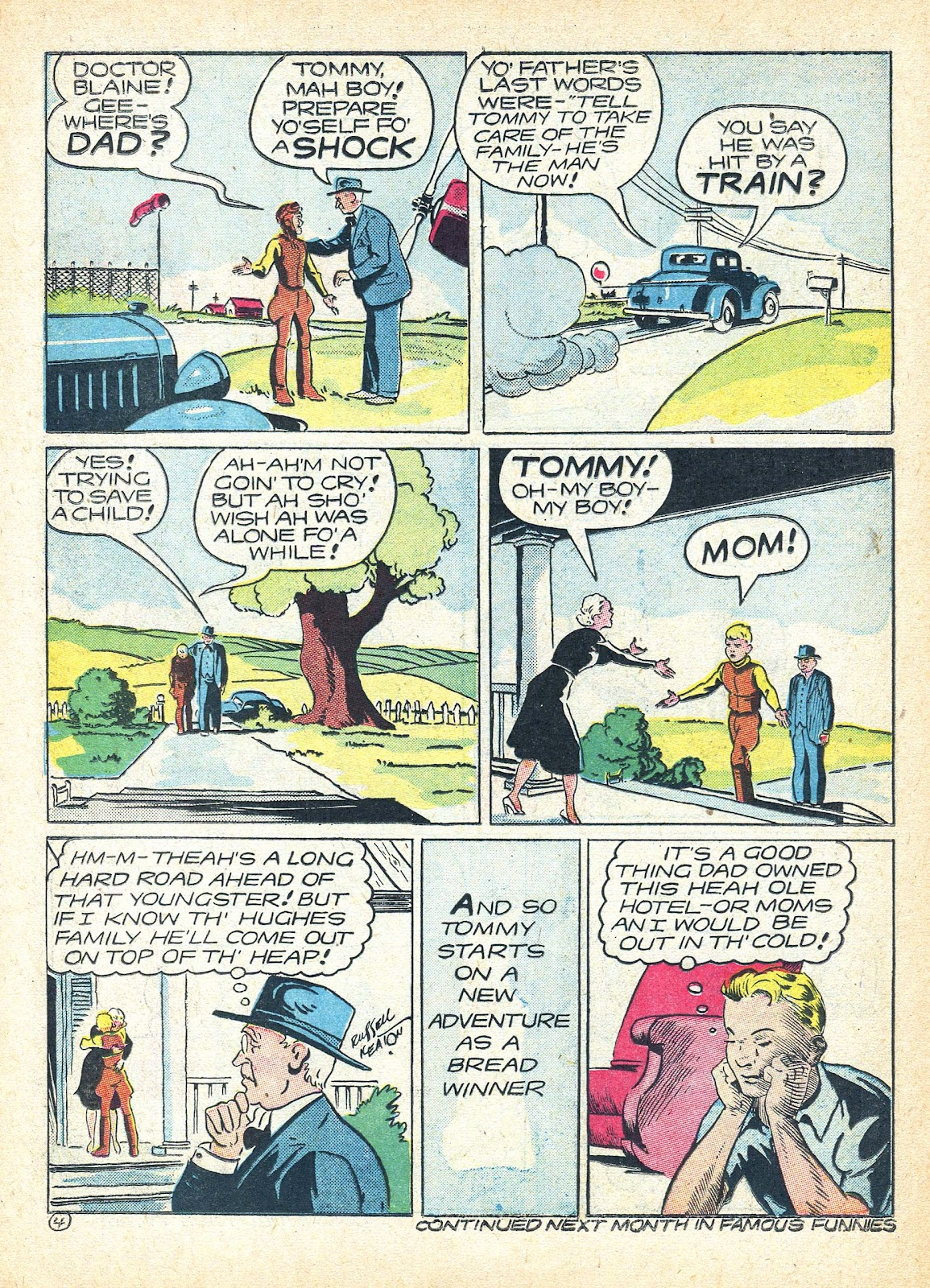 Read online Famous Funnies comic -  Issue #95 - 49