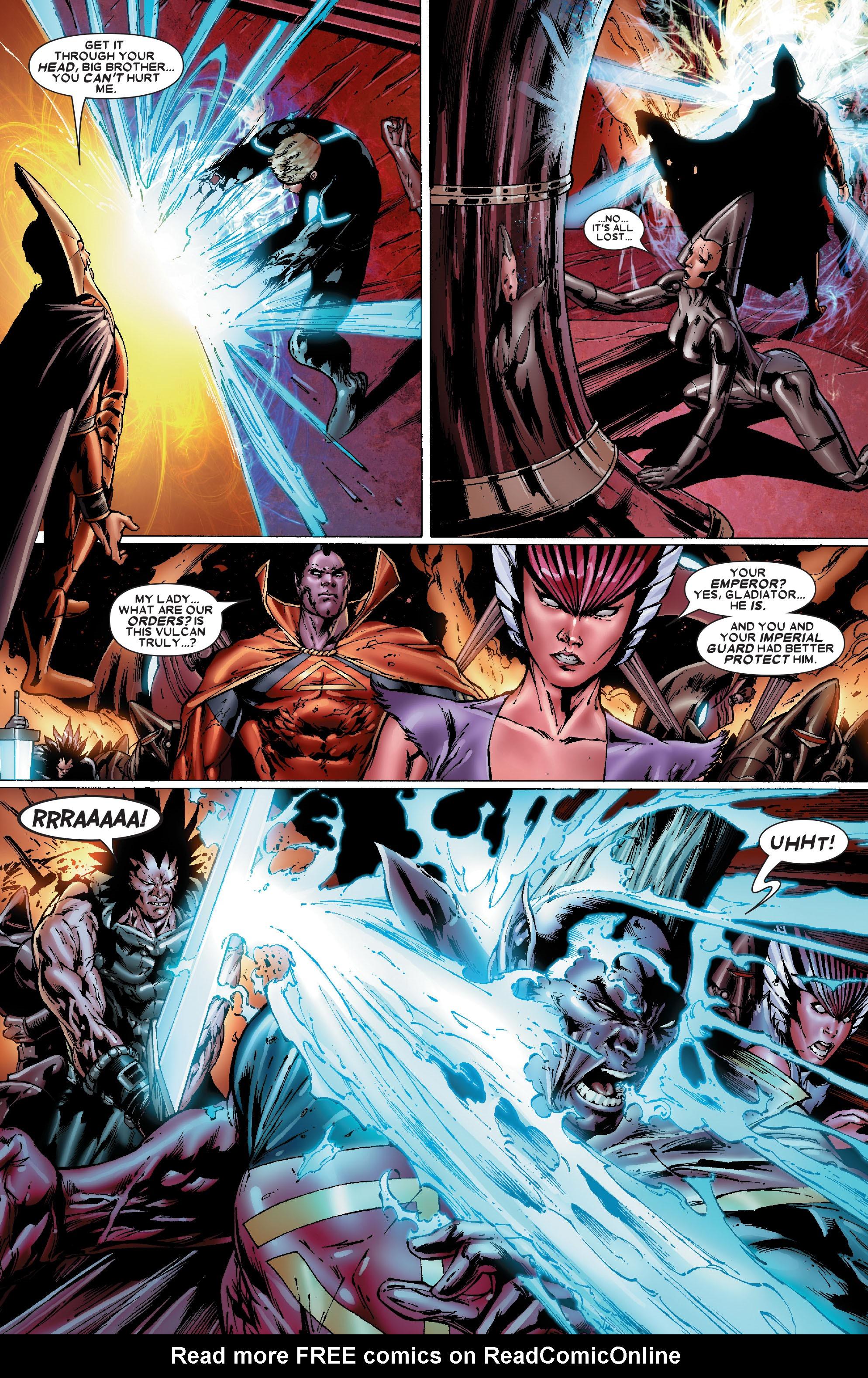 Read online Uncanny X-Men (1963) comic -  Issue #486 - 9