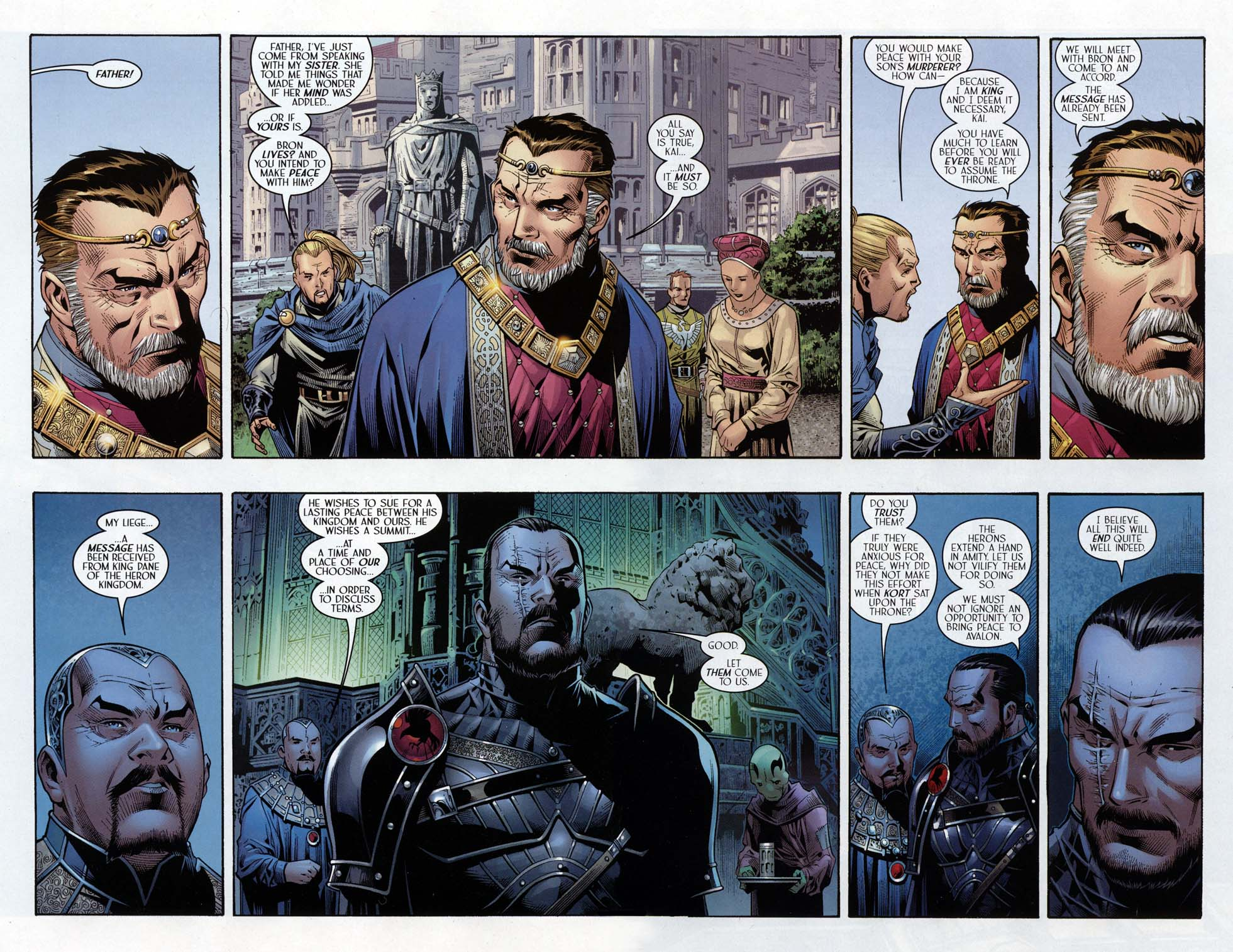 Read online Scion comic -  Issue #32 - 9