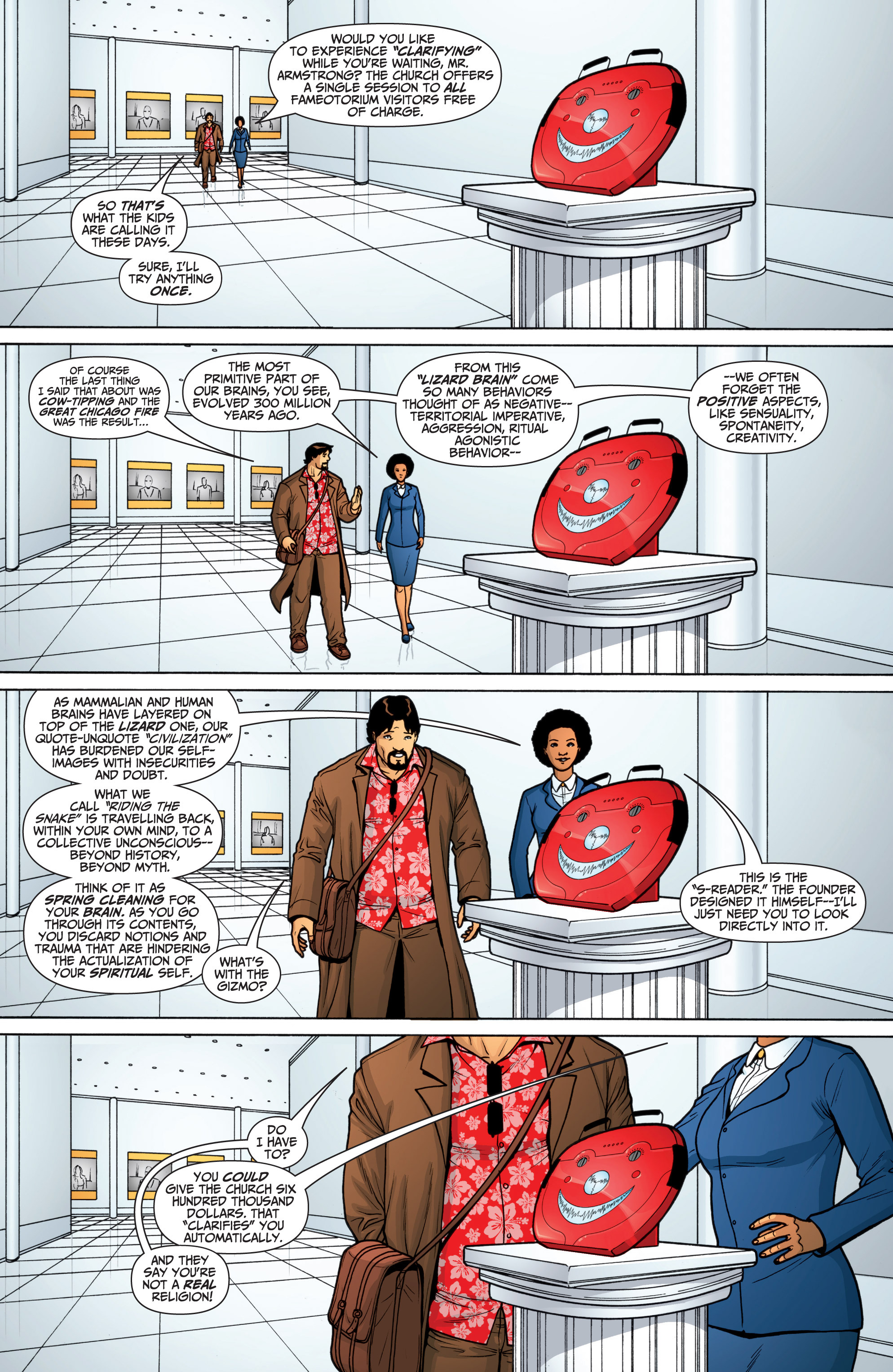 Read online Archer and Armstrong comic -  Issue #Archer and Armstrong _TPB 6 - 18