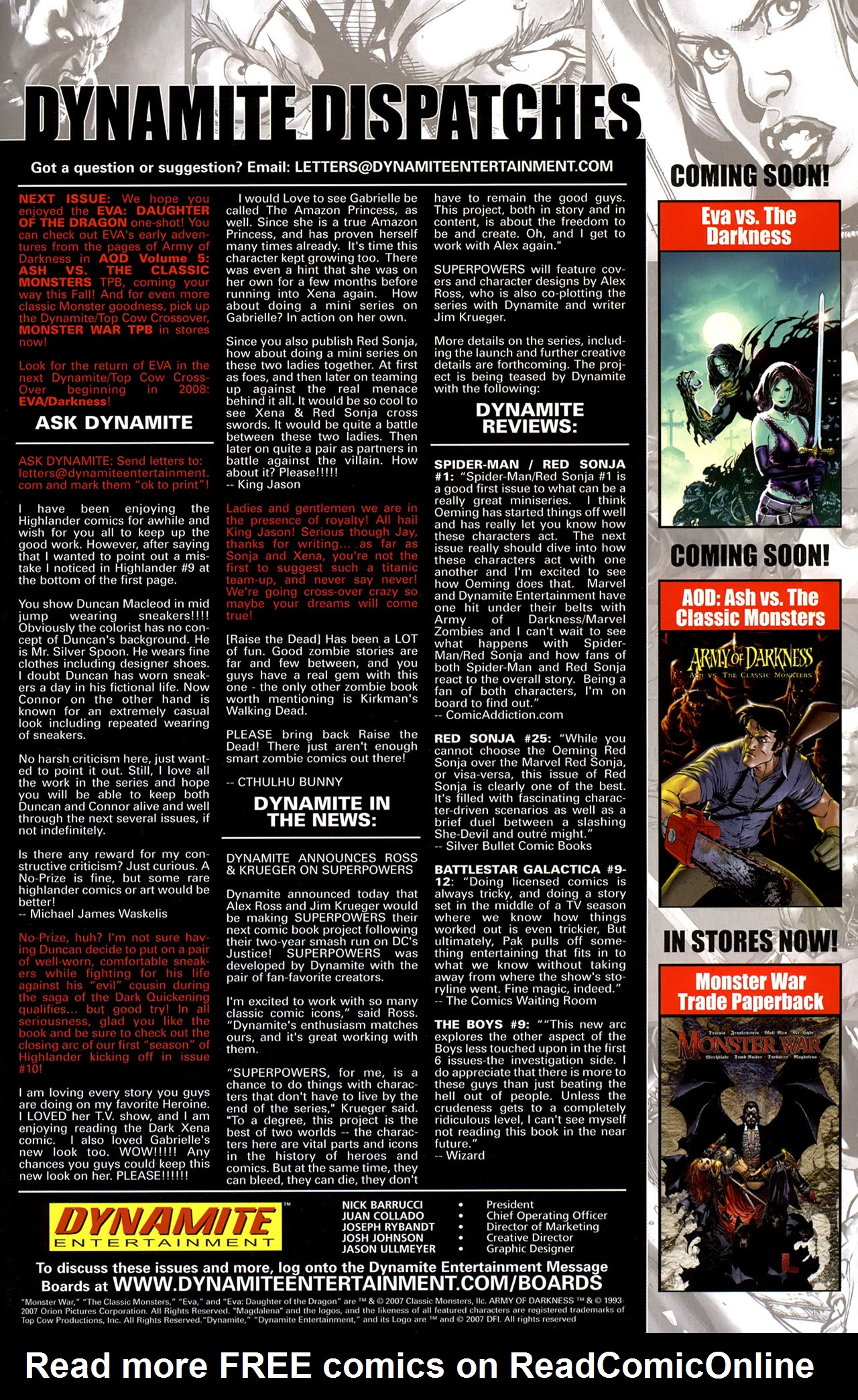 Read online Eva: Daughter of the Dragon comic -  Issue # Full - 35