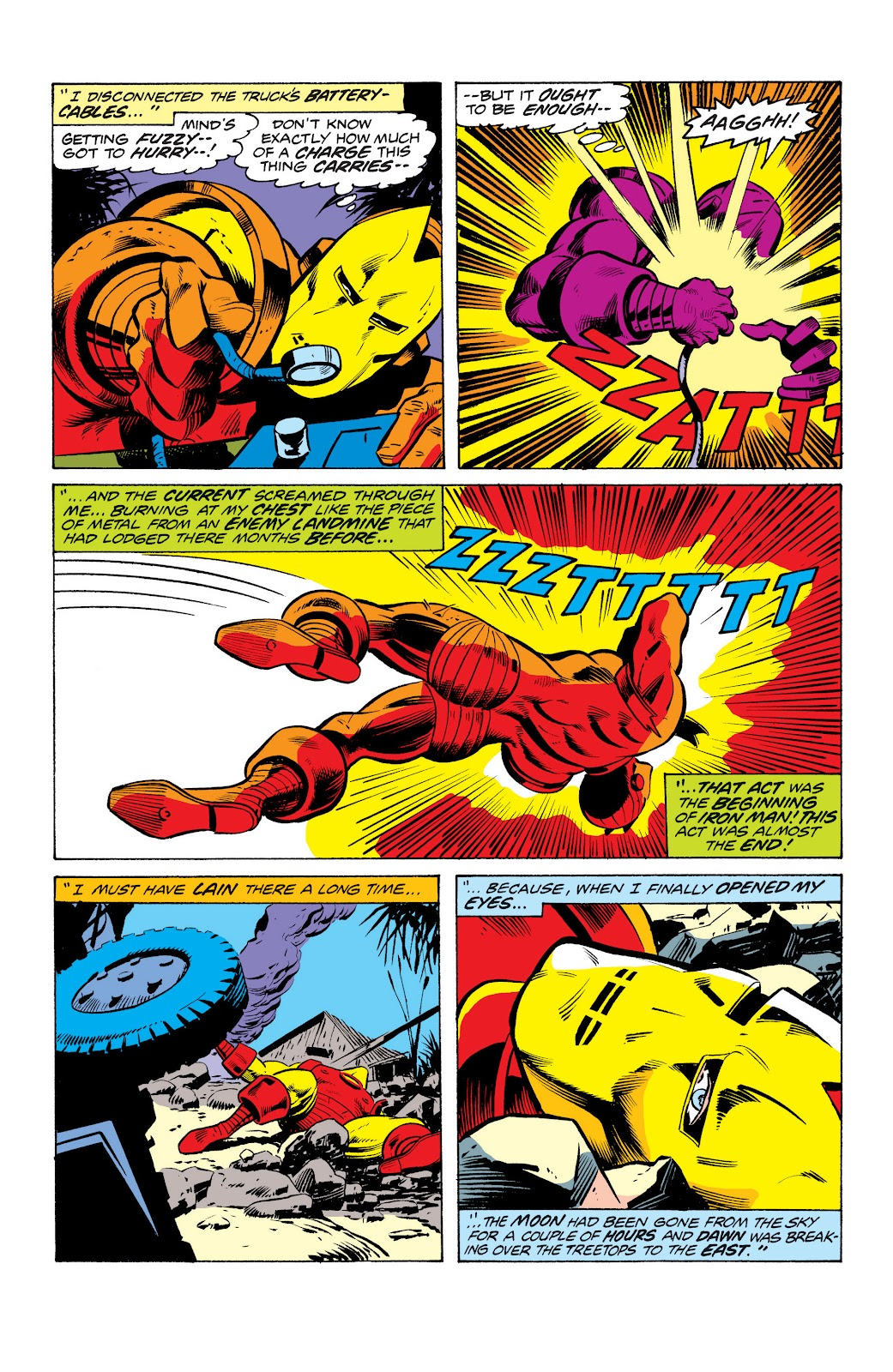 Read online Marvel Masterworks: The Invincible Iron Man comic -  Issue # TPB 10 (Part 2) - 85