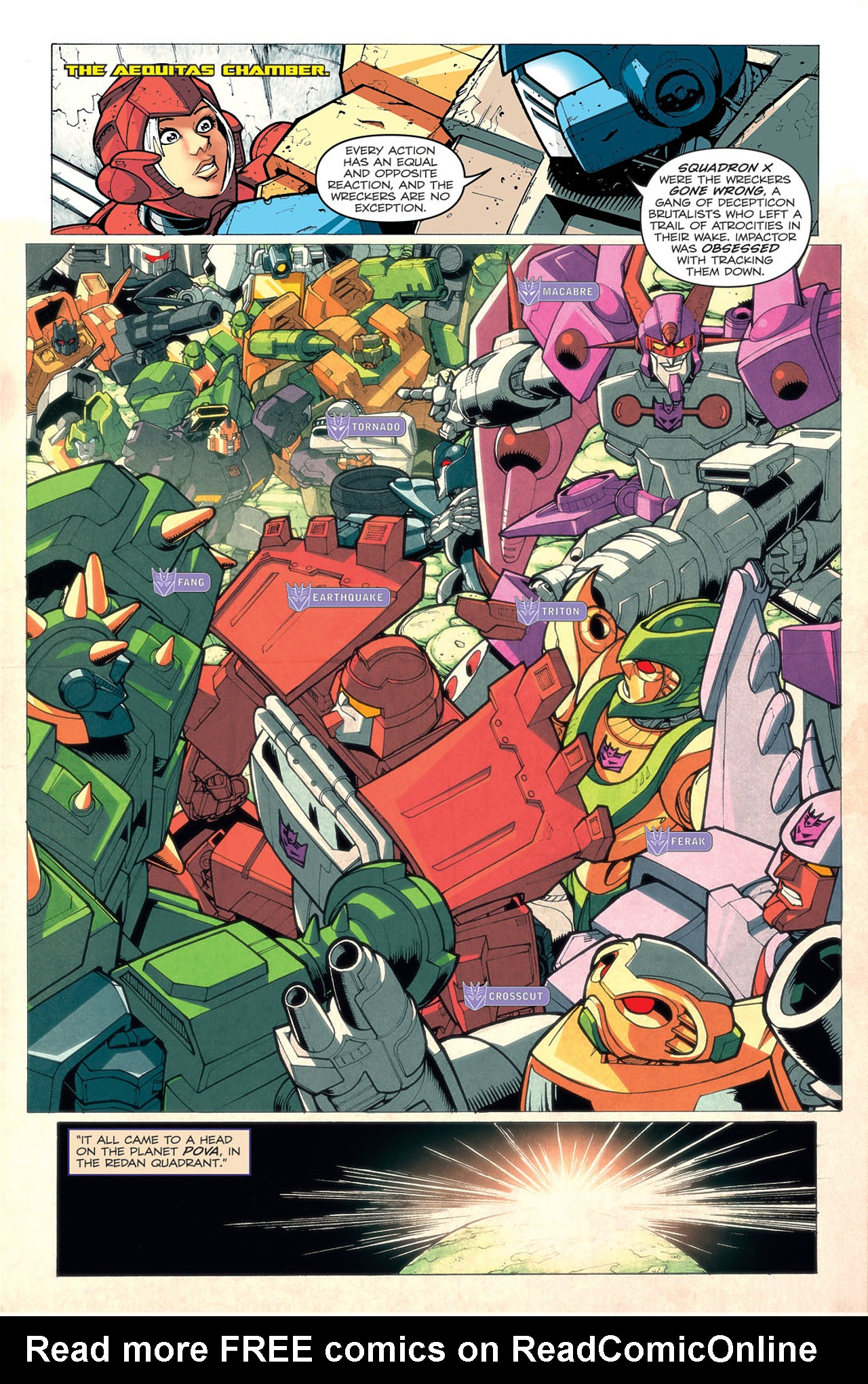 Read online Transformers: Last Stand of The Wreckers comic -  Issue #4 - 12