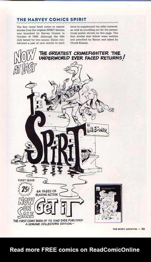 Read online Will Eisner's The Spirit Archives comic -  Issue # TPB 26 (Part 1) - 32
