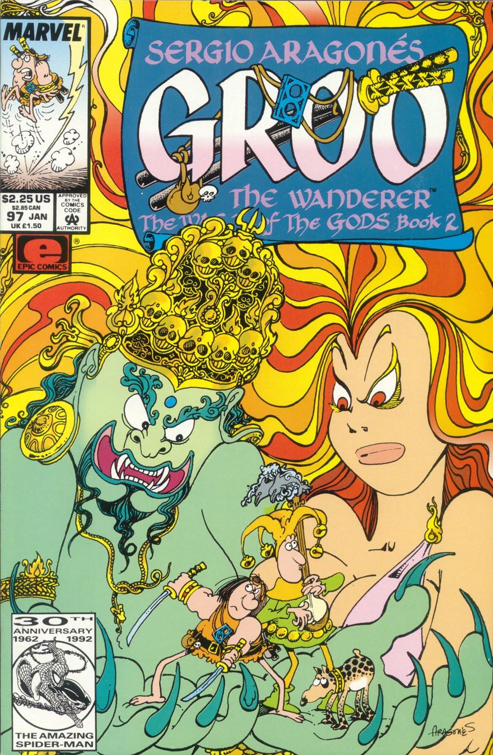 Read online Sergio Aragonés Groo the Wanderer comic -  Issue #97 - 1