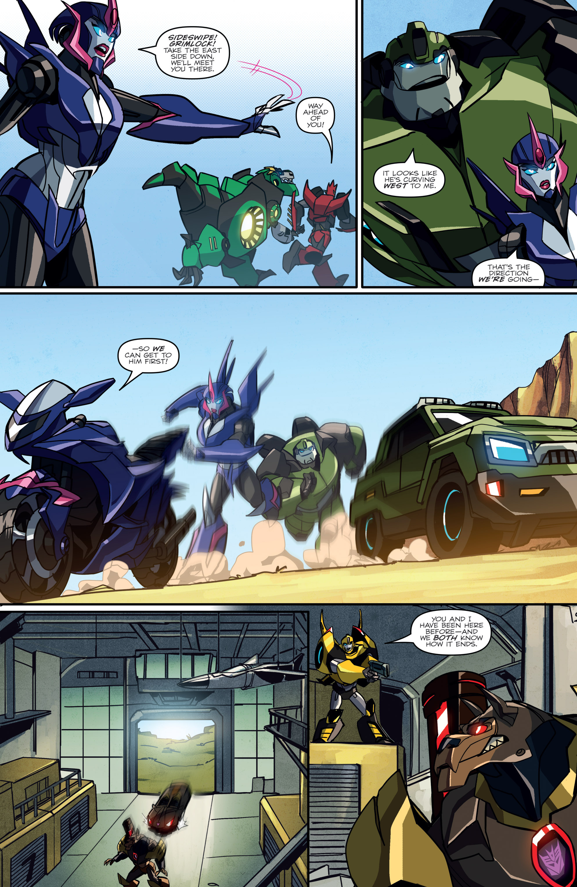 Read online Transformers: Robots In Disguise (2015) comic -  Issue #2 - 19
