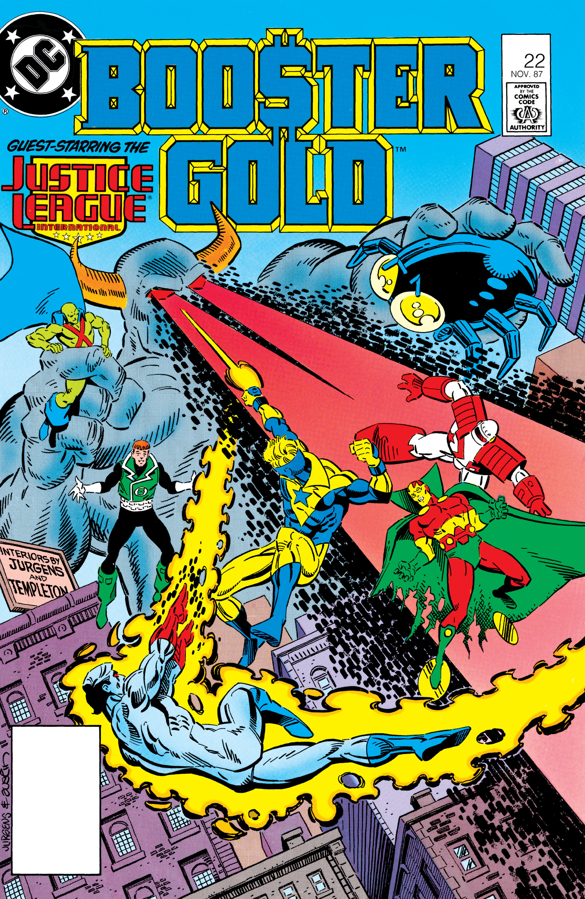 Booster Gold 1986 Issue 22