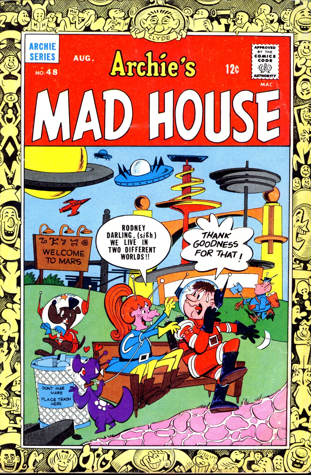 Archie's Madhouse issue 48 - Page 1