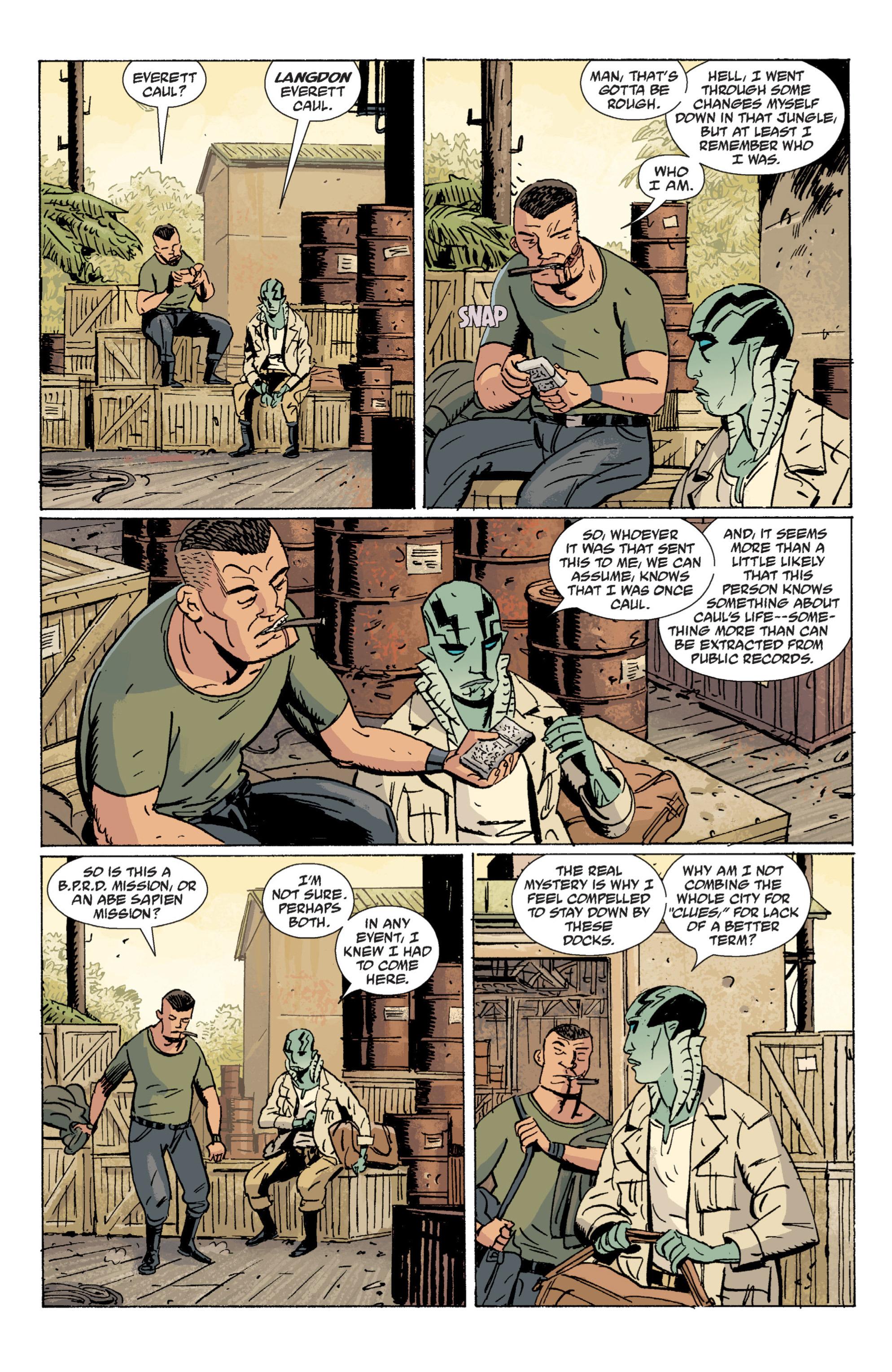 Read online B.P.R.D. (2003) comic -  Issue # TPB 7 - 38