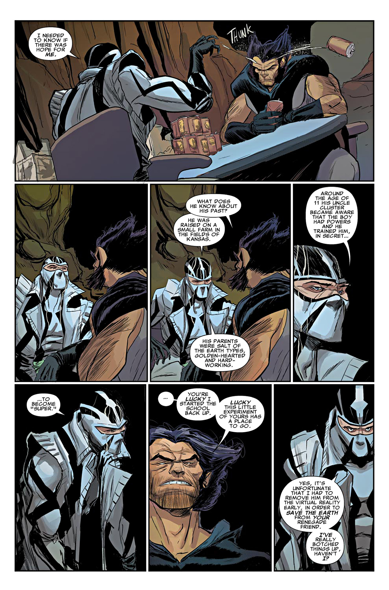Read online Uncanny X-Force (2010) comic -  Issue #19 - 16