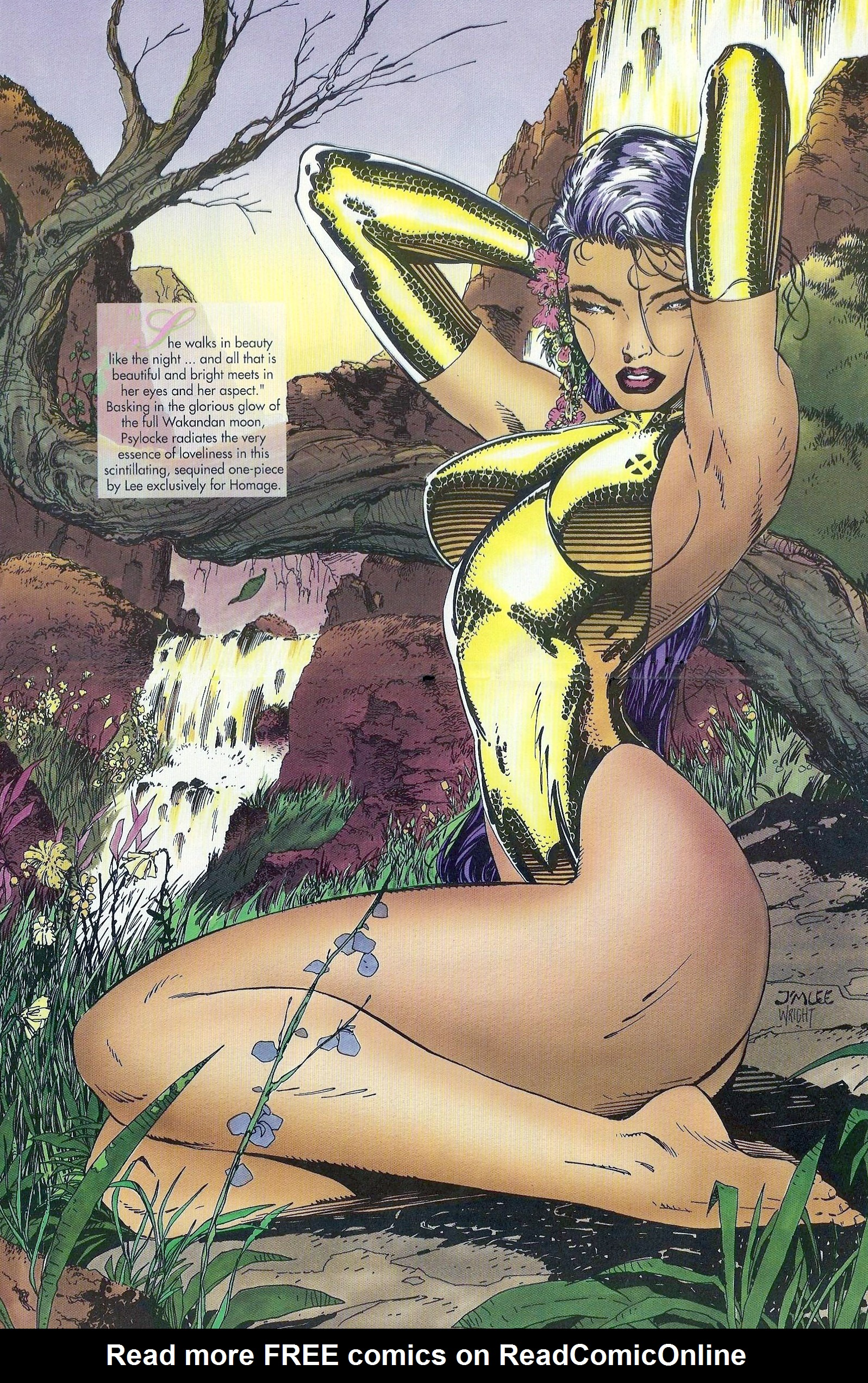 Read online Marvel Swimsuit Special comic -  Issue #1 - 22