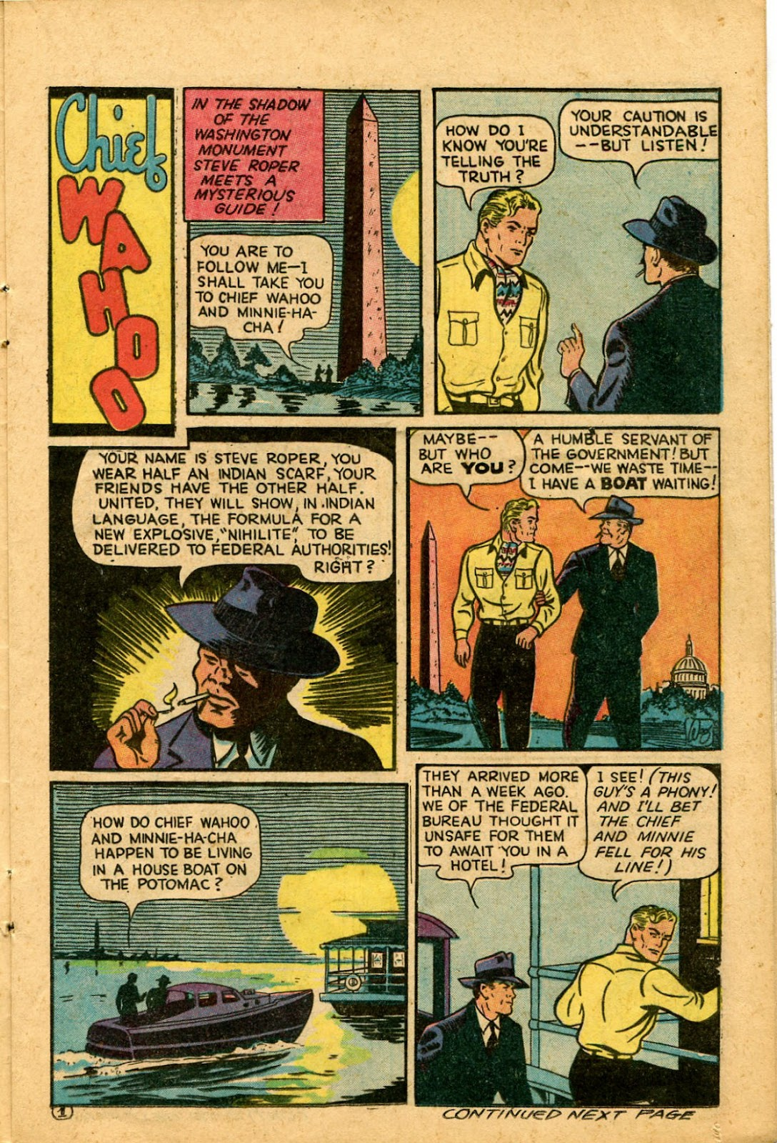 Read online Famous Funnies comic -  Issue #136 - 13