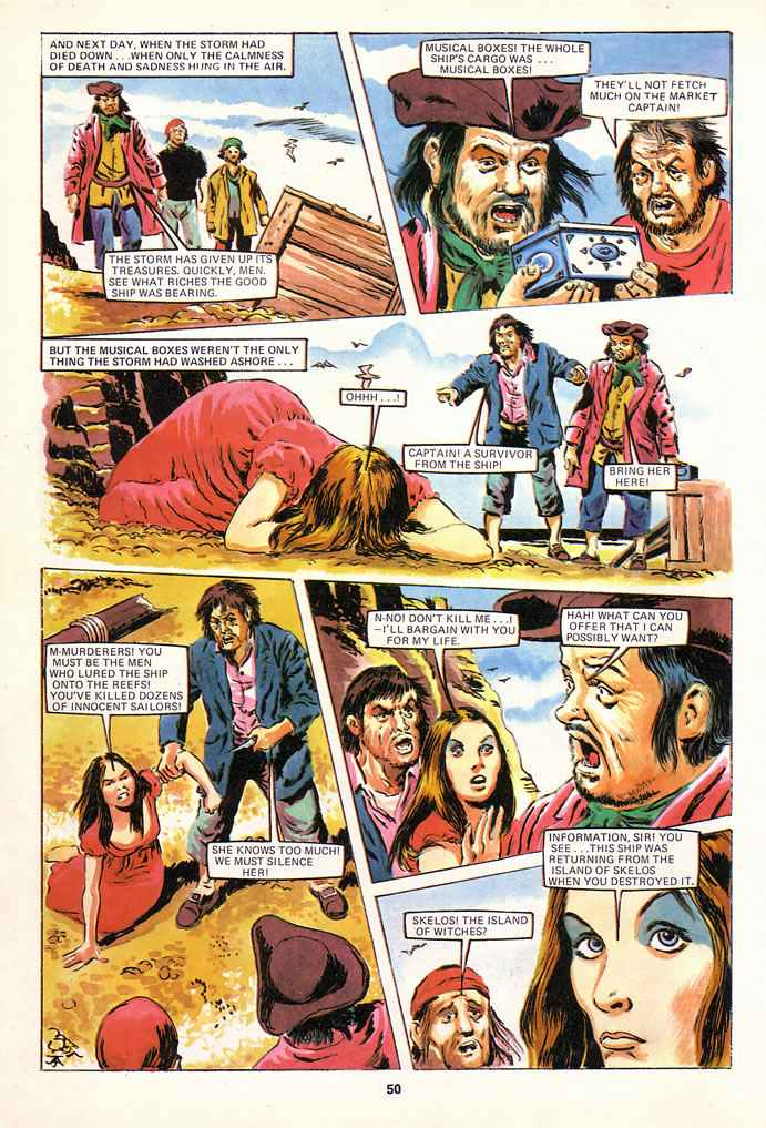Read online Misty comic -  Issue # _Annual 1980 - 50