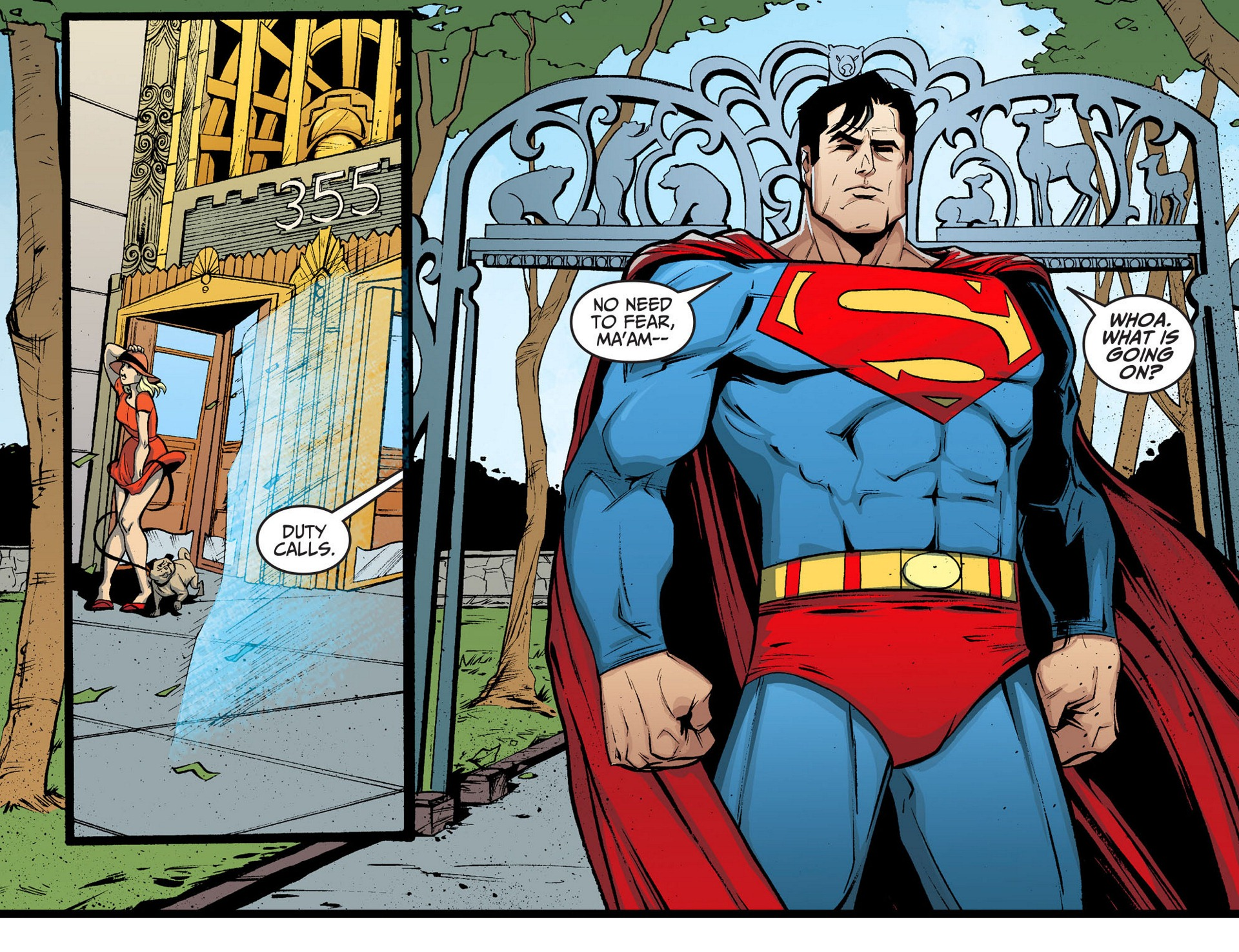 Read online Adventures of Superman [I] comic -  Issue #5 - 6