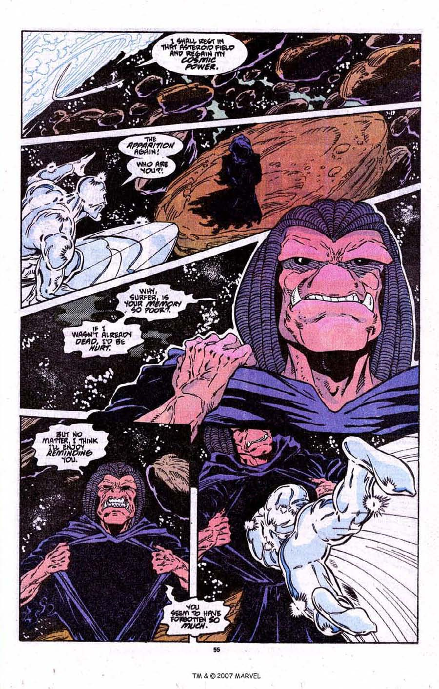 Read online Silver Surfer (1987) comic -  Issue # _Annual 3 - 57