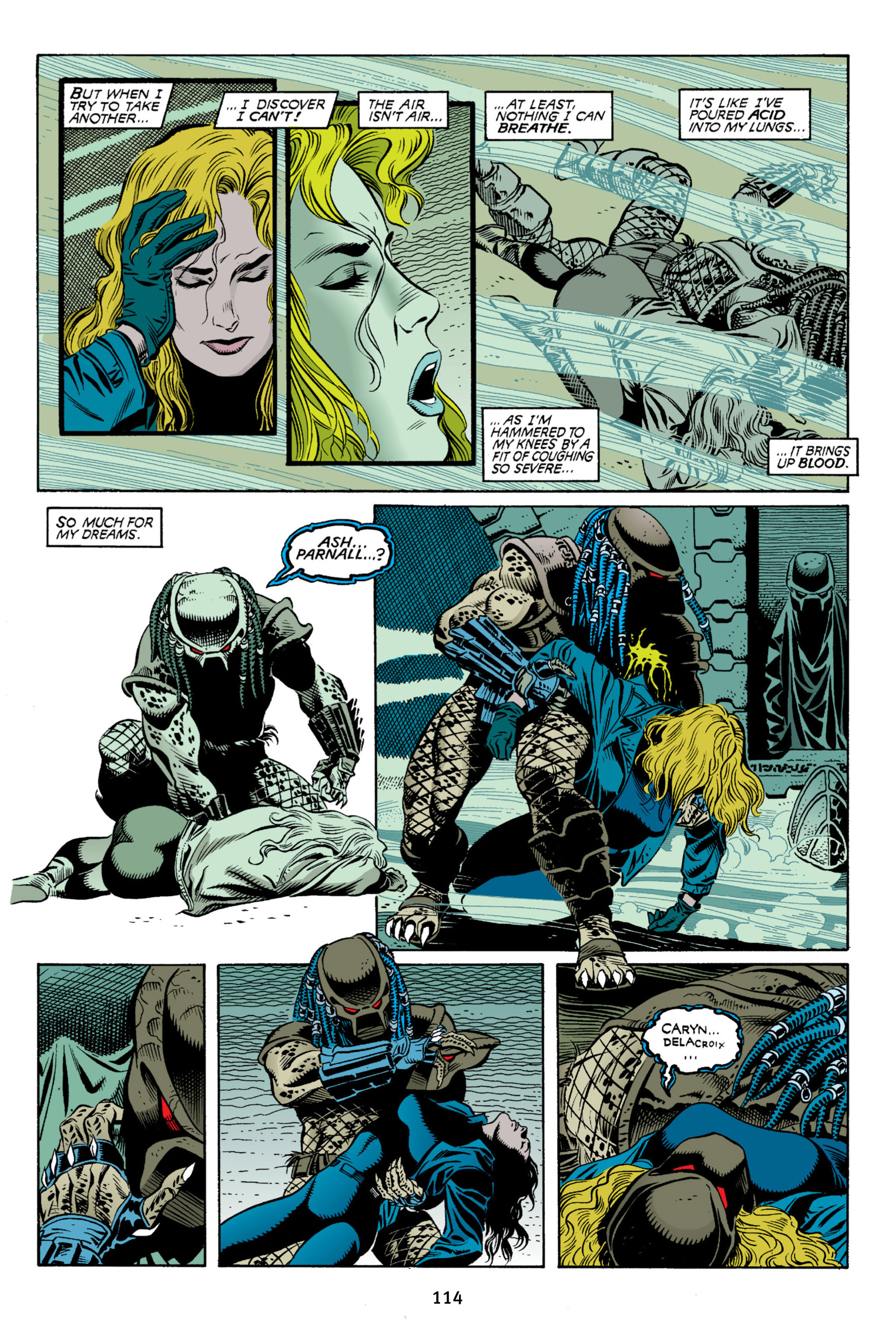 Read online Aliens vs. Predator Omnibus comic -  Issue # _TPB 2 Part 2 - 2