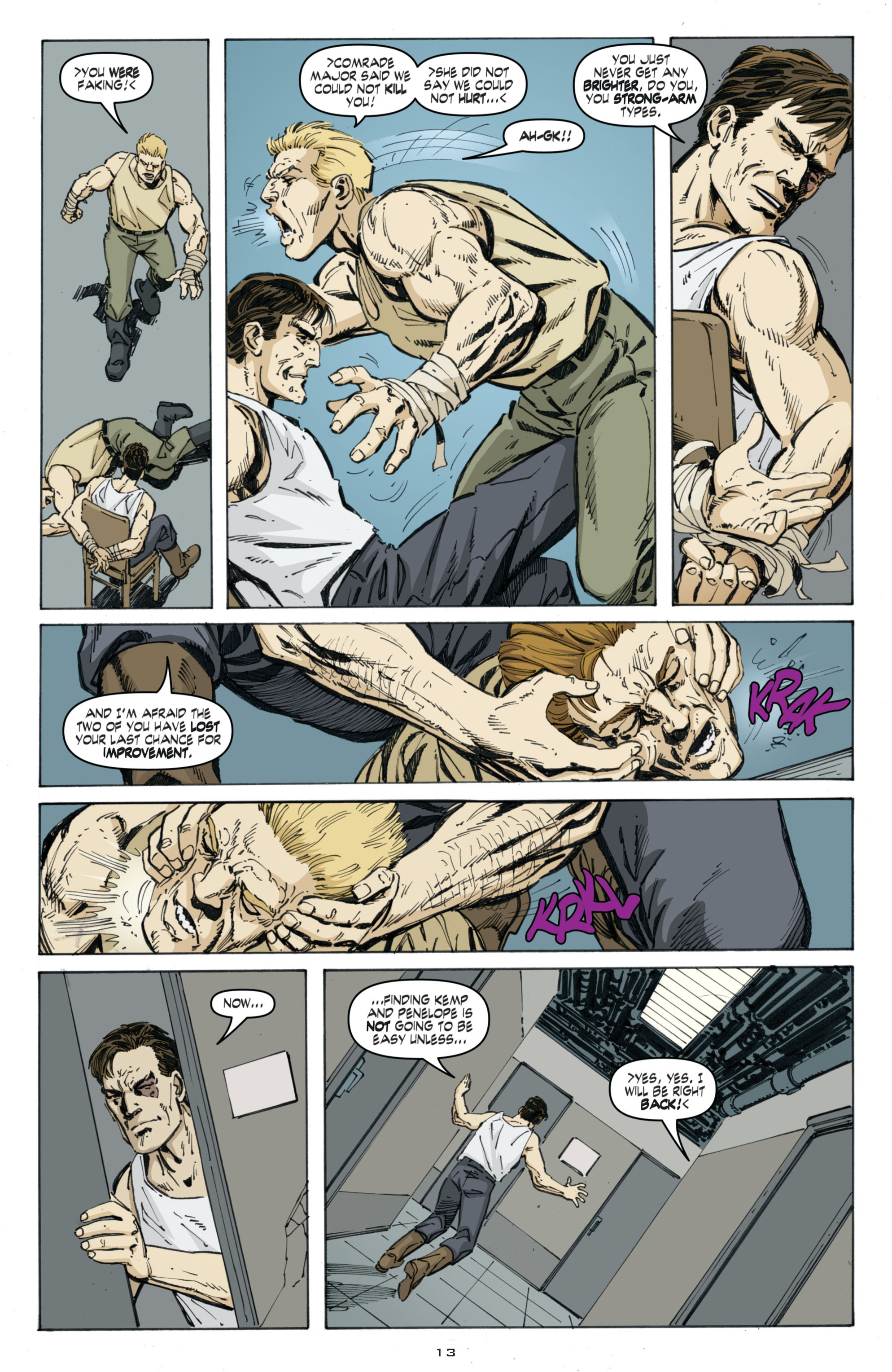 Read online Cold War comic -  Issue # TPB - 97