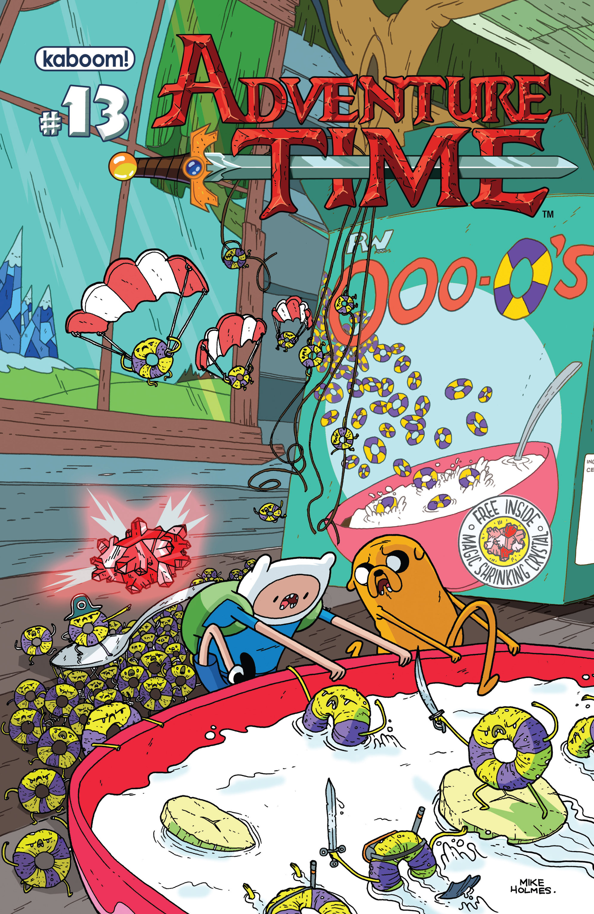 Read online Adventure Time comic -  Issue #13 - 1
