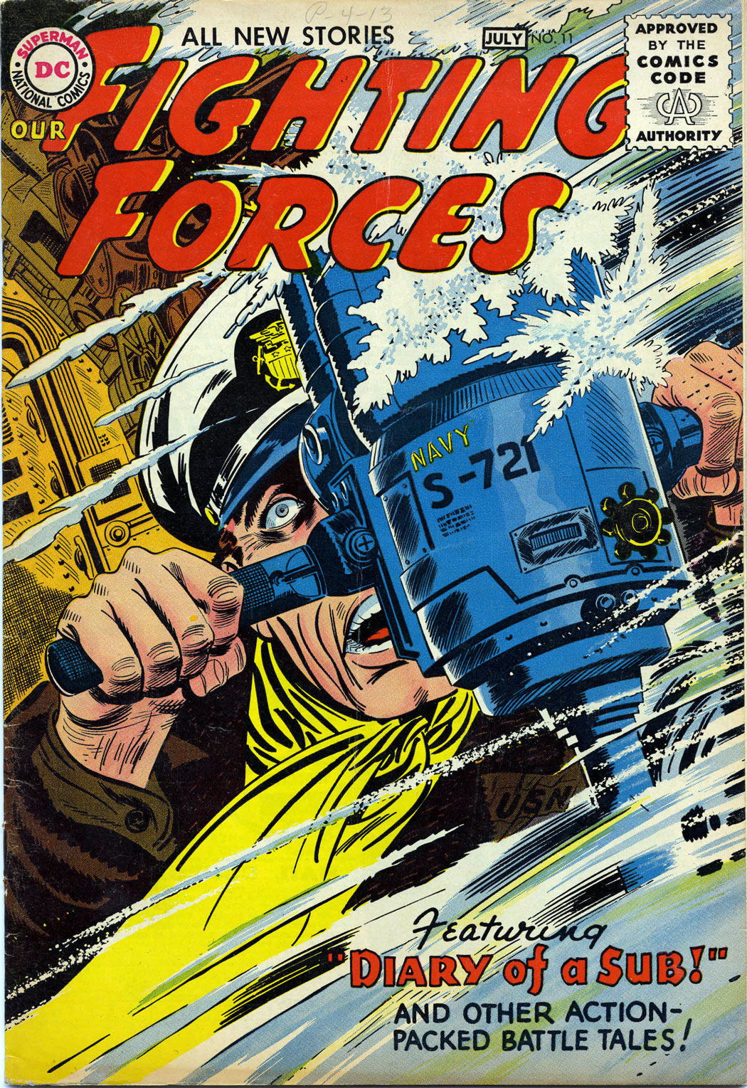 Our Fighting Forces (1954) issue 11 - Page 1