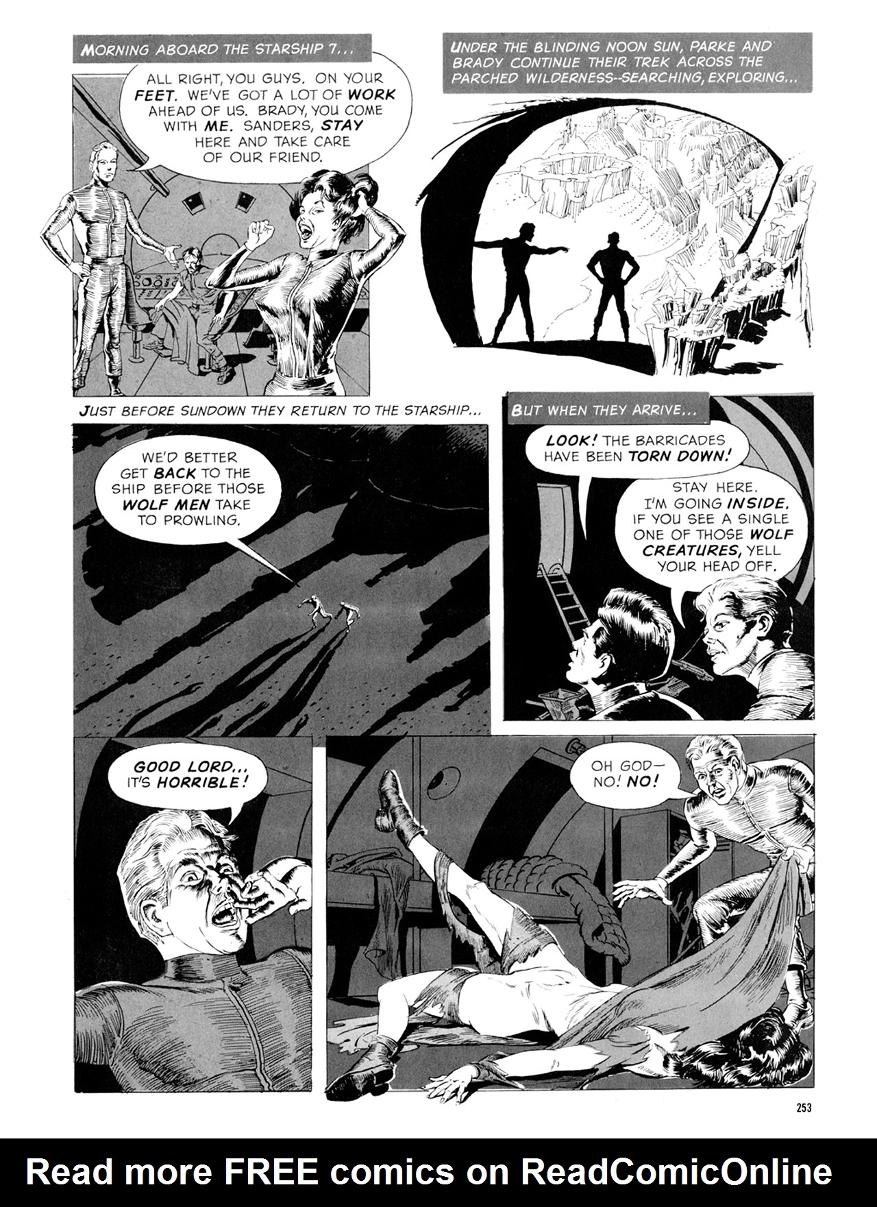 Read online Eerie Archives comic -  Issue # TPB 9 - 254
