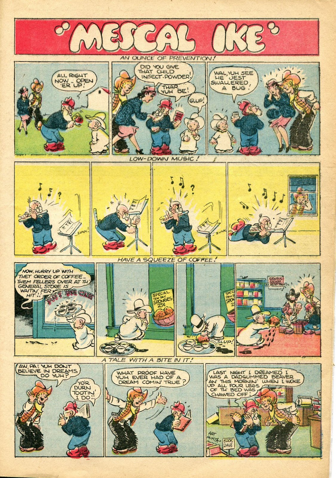Read online Famous Funnies comic -  Issue #110 - 51