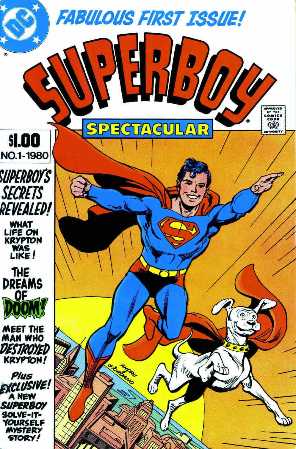Superboy Spectacular Full Page 1