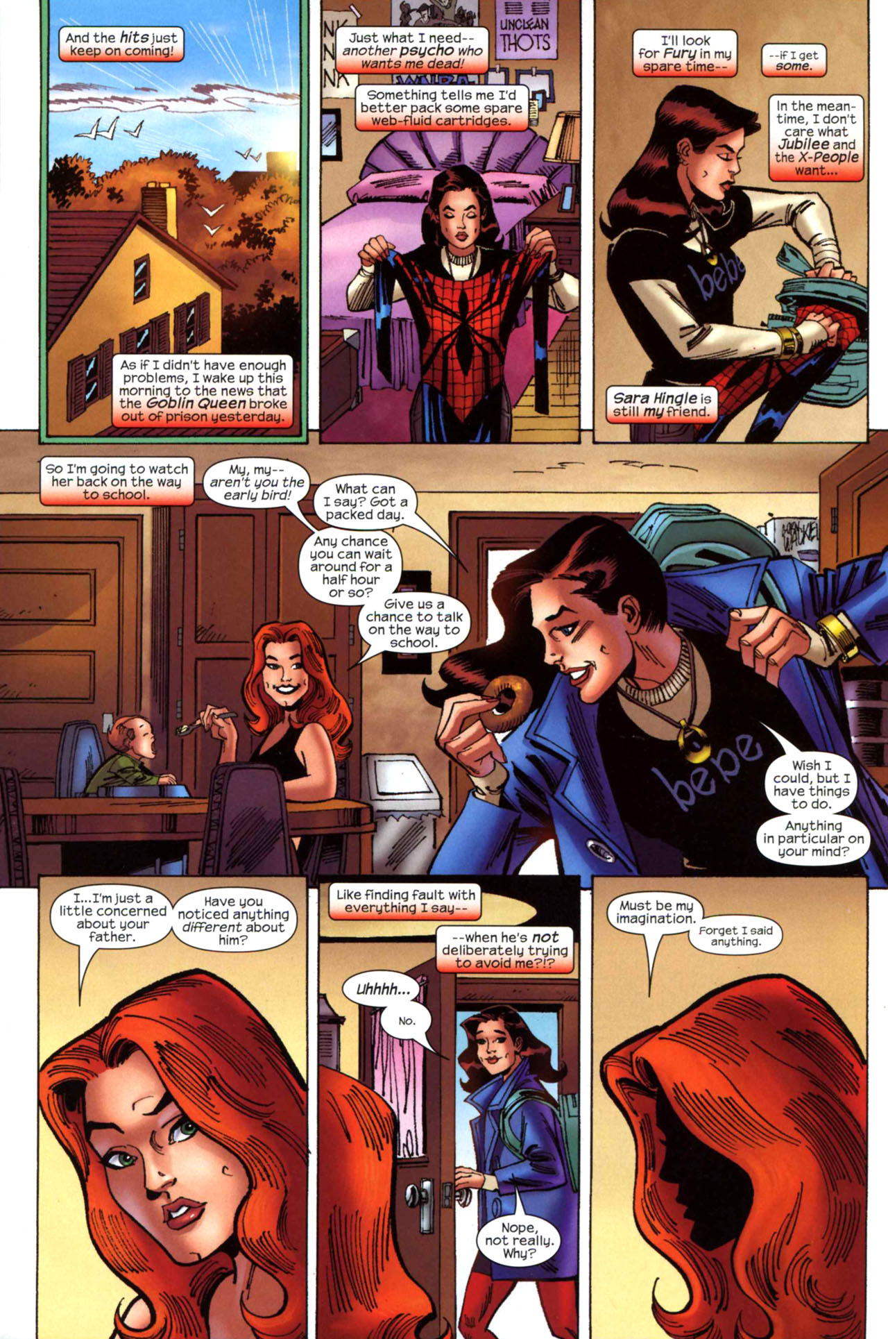 Read online Amazing Spider-Girl comic -  Issue #23 - 7