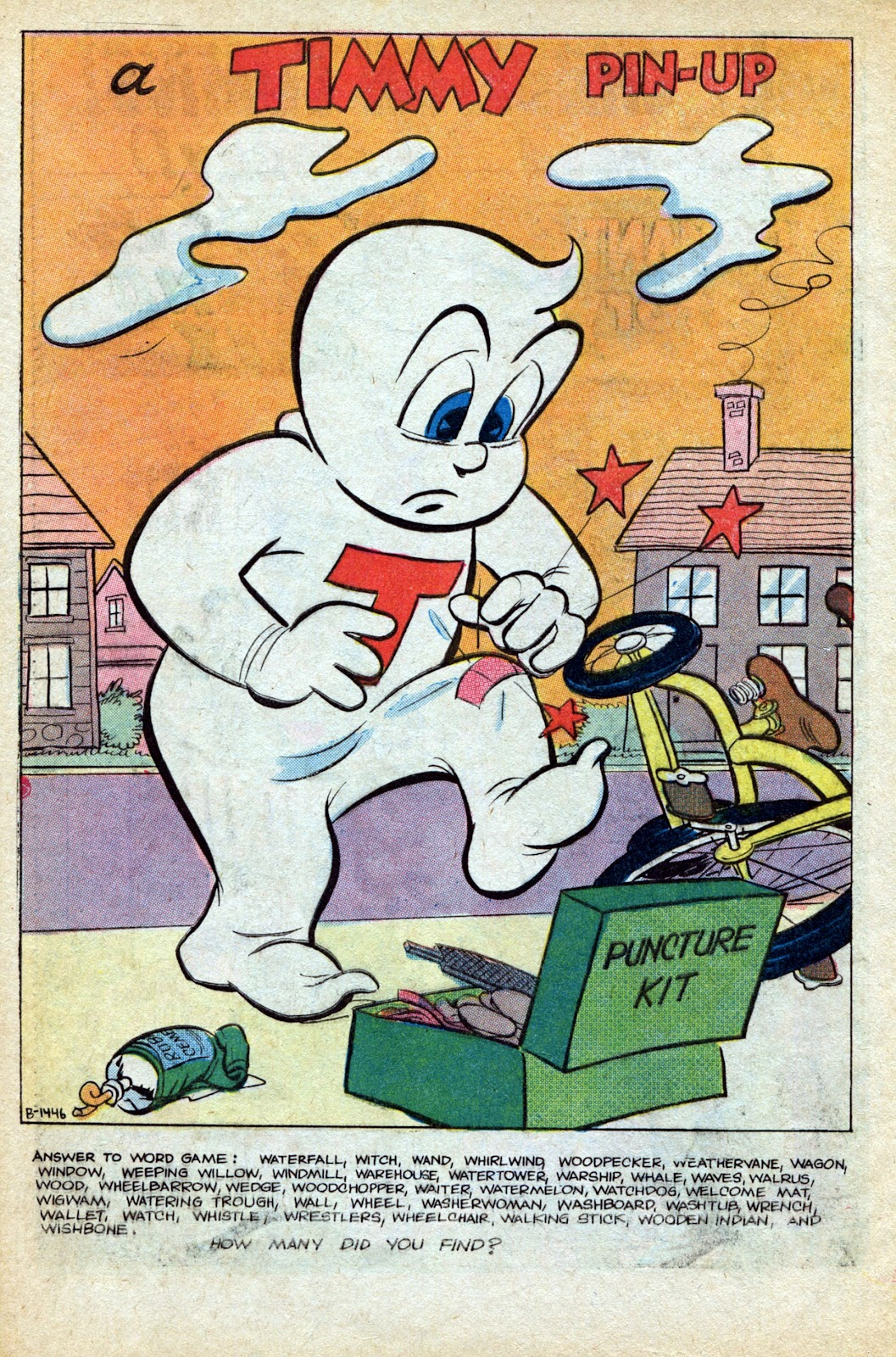 Read online Timmy the Timid Ghost comic -  Issue #4 - 32