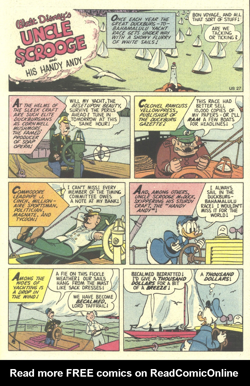Read online Uncle Scrooge (1953) comic -  Issue #211 - 31