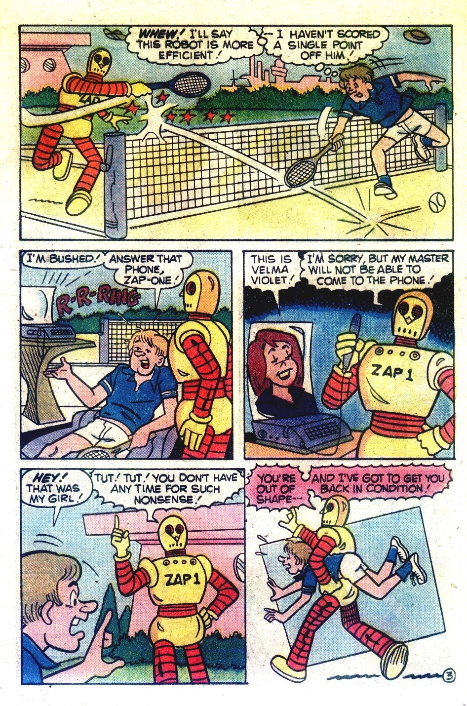 Read online Madhouse Comics comic -  Issue #120 - 5