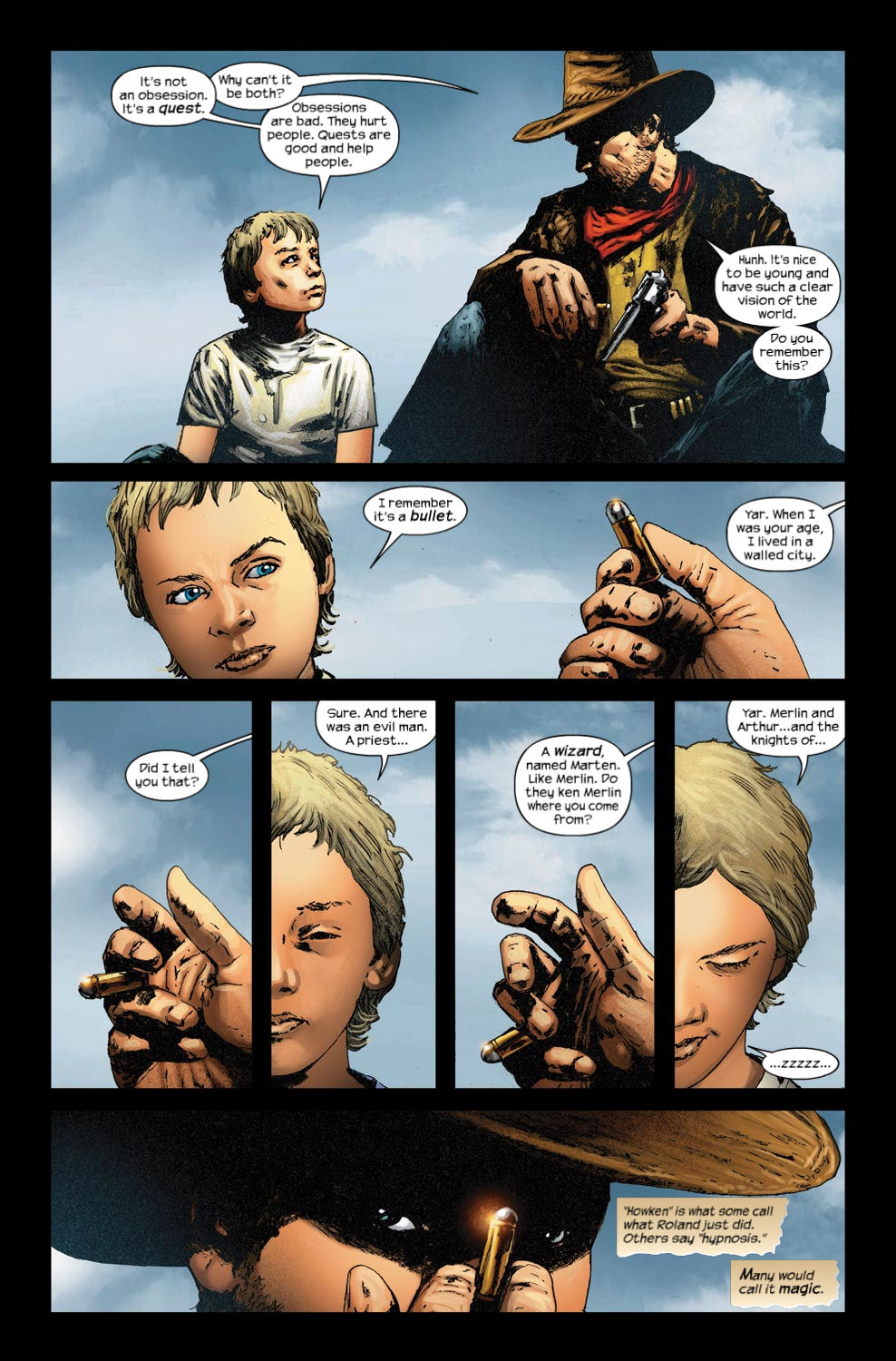 Read online Dark Tower: The Gunslinger - The Way Station comic -  Issue #4 - 6