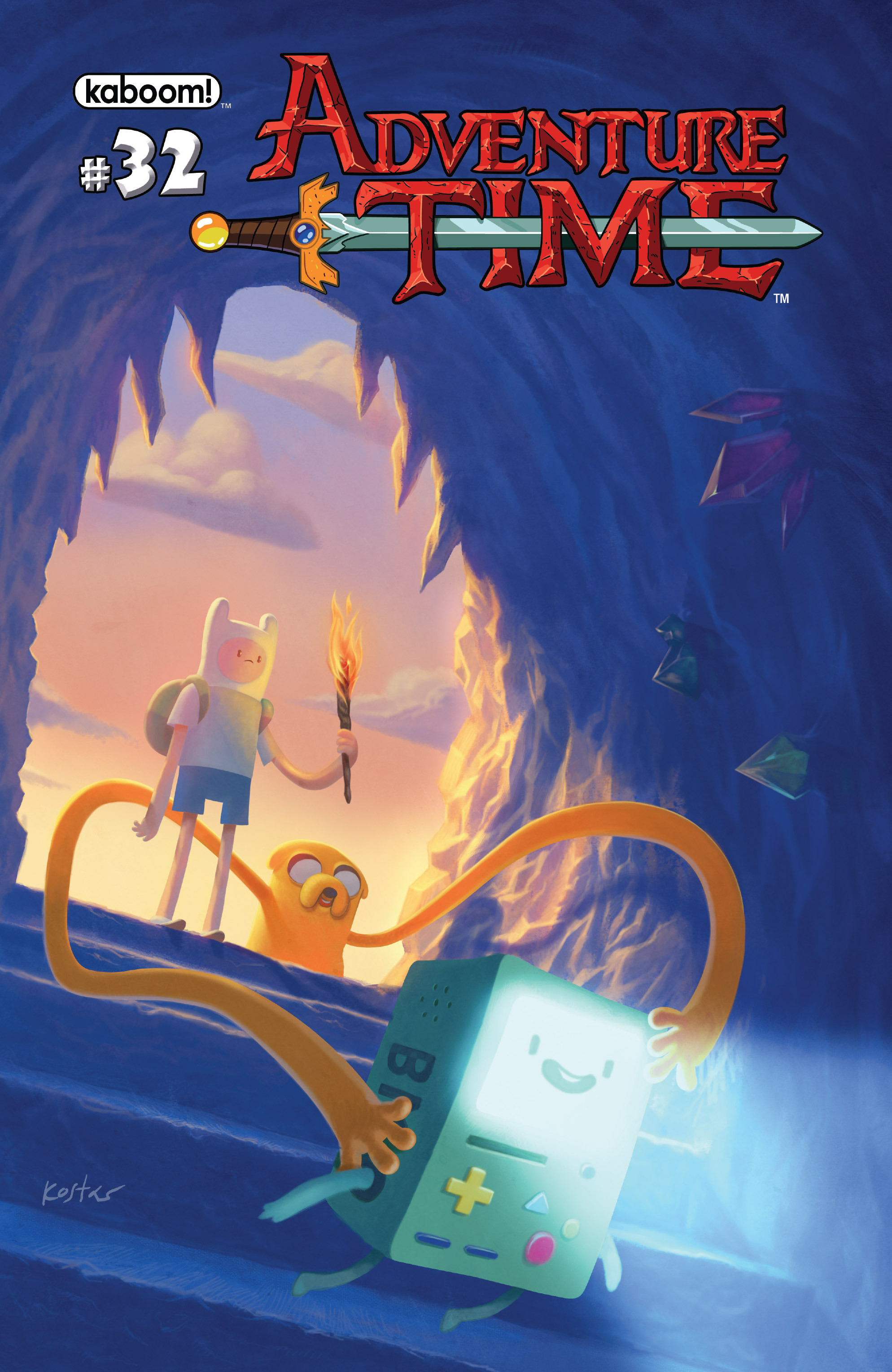 Read online Adventure Time comic -  Issue #32 - 1