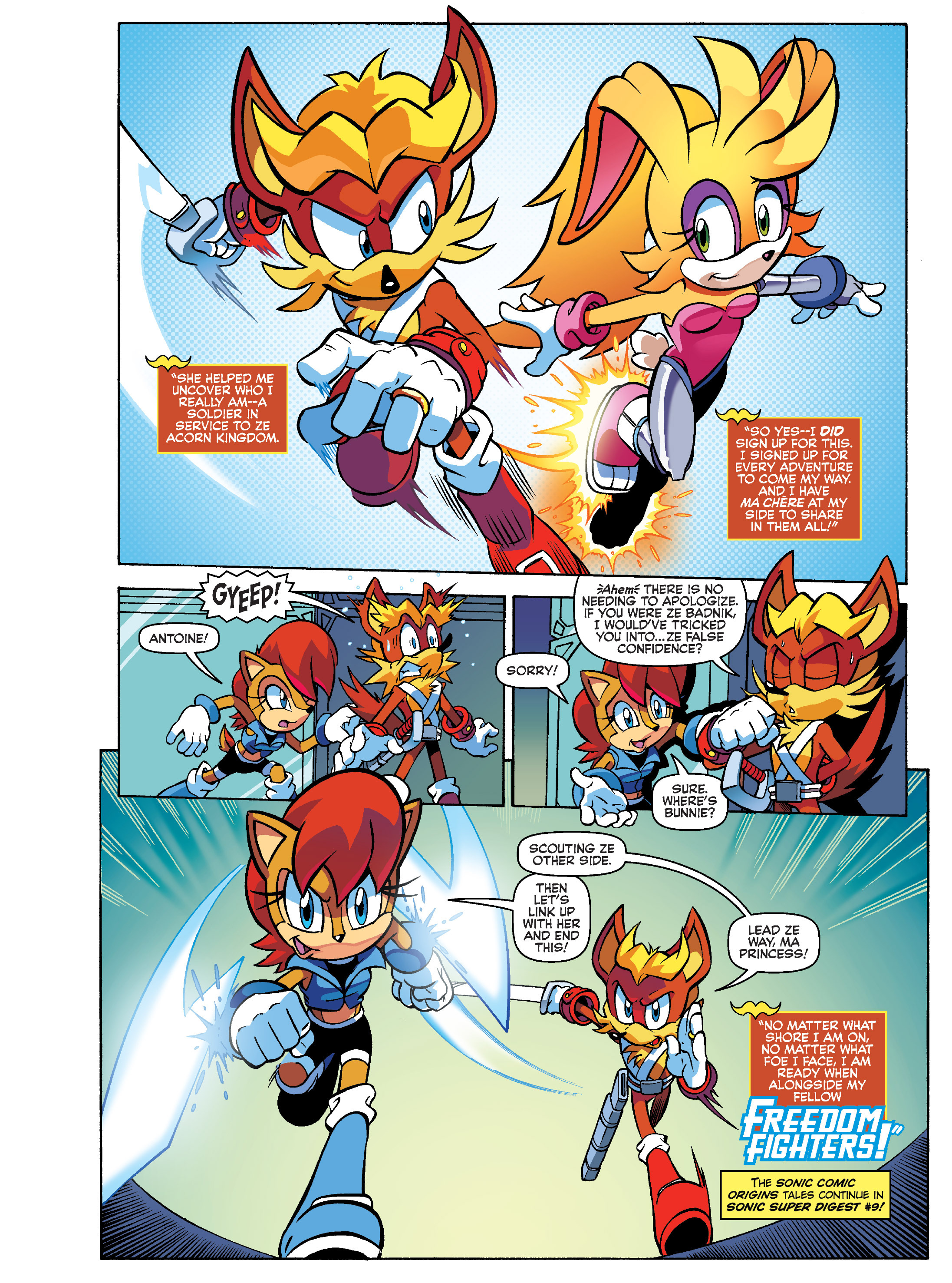 Read online Sonic Super Digest comic -  Issue #8 - 6