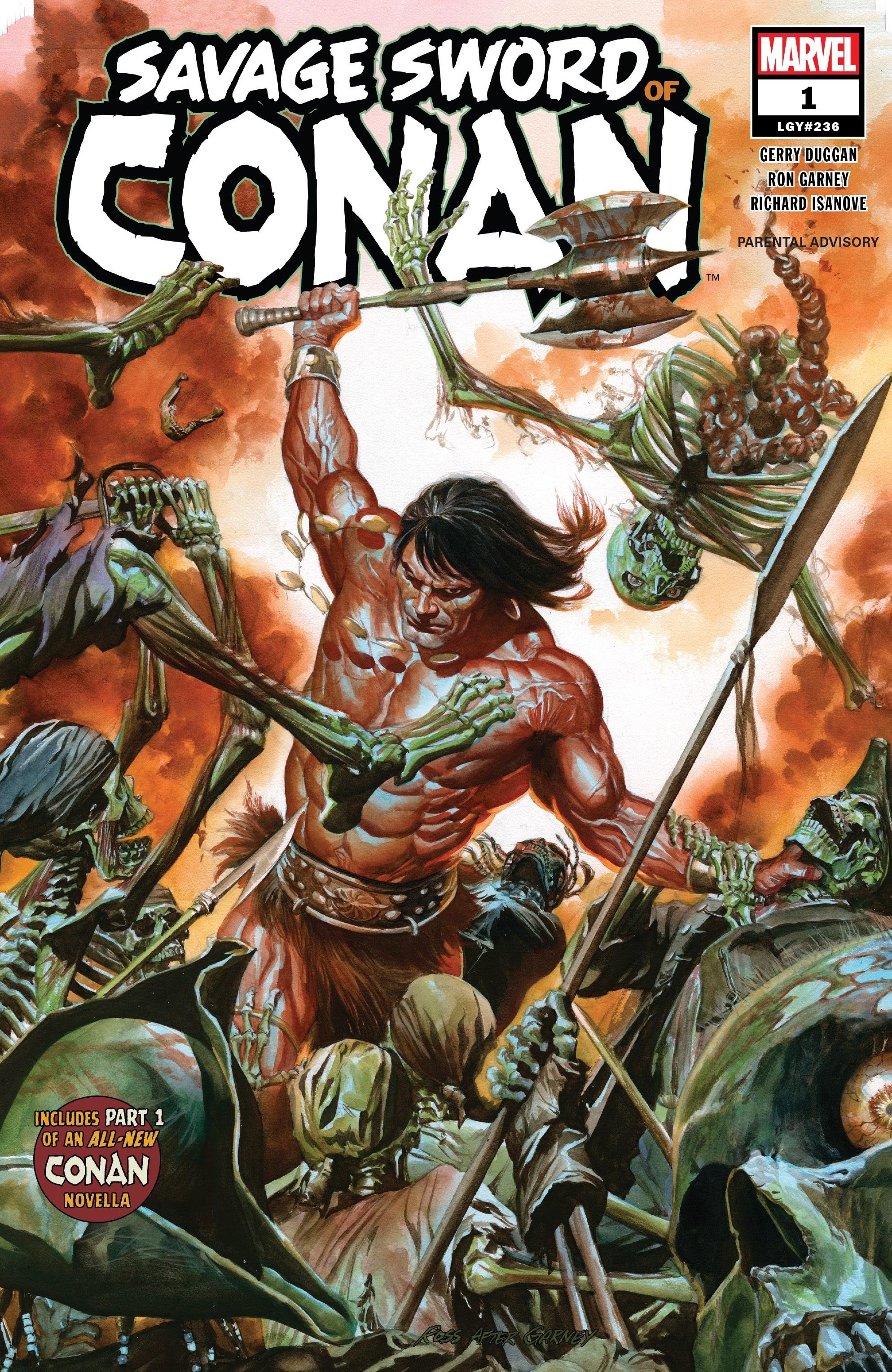 Savage Sword of Conan 1 Page 1