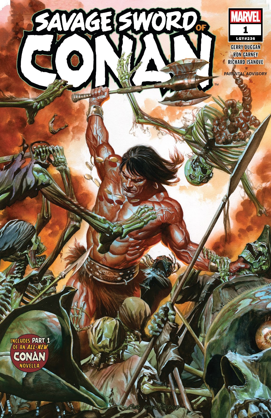 Savage Sword of Conan Best Marvel Comics of 2019