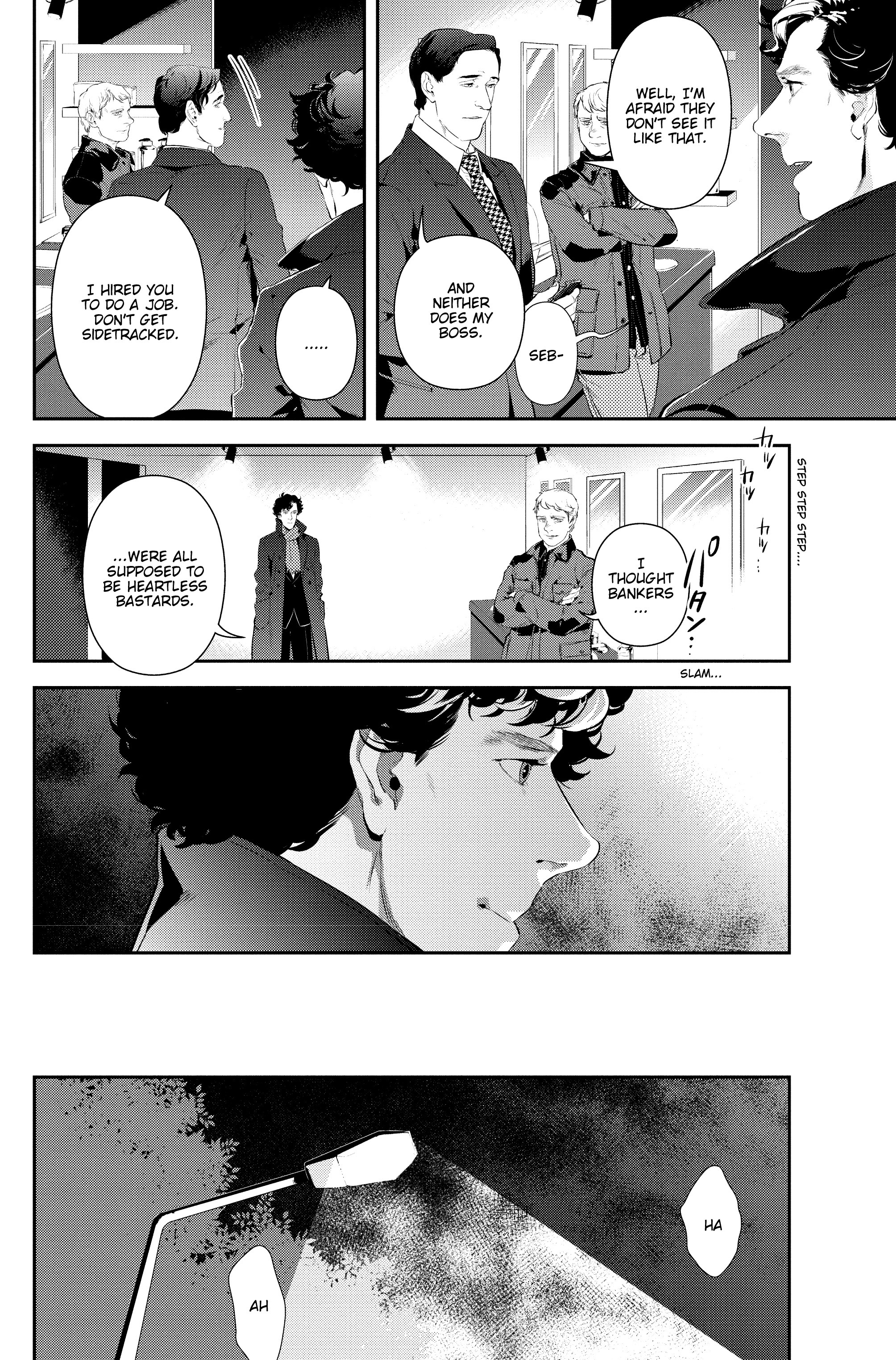 Read online Sherlock: The Blind Banker comic -  Issue #2 - 19
