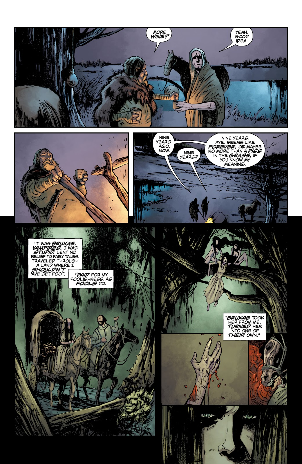 Read online The Witcher Omnibus comic -  Issue # TPB (Part 1) - 14