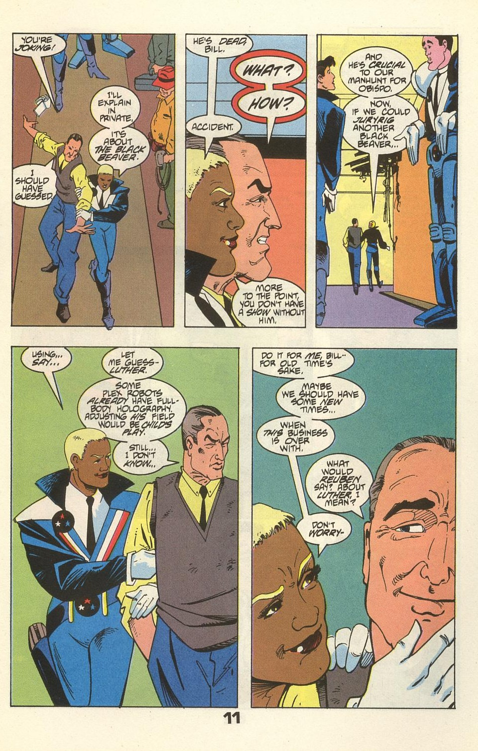 Read online American Flagg! comic -  Issue #34 - 15