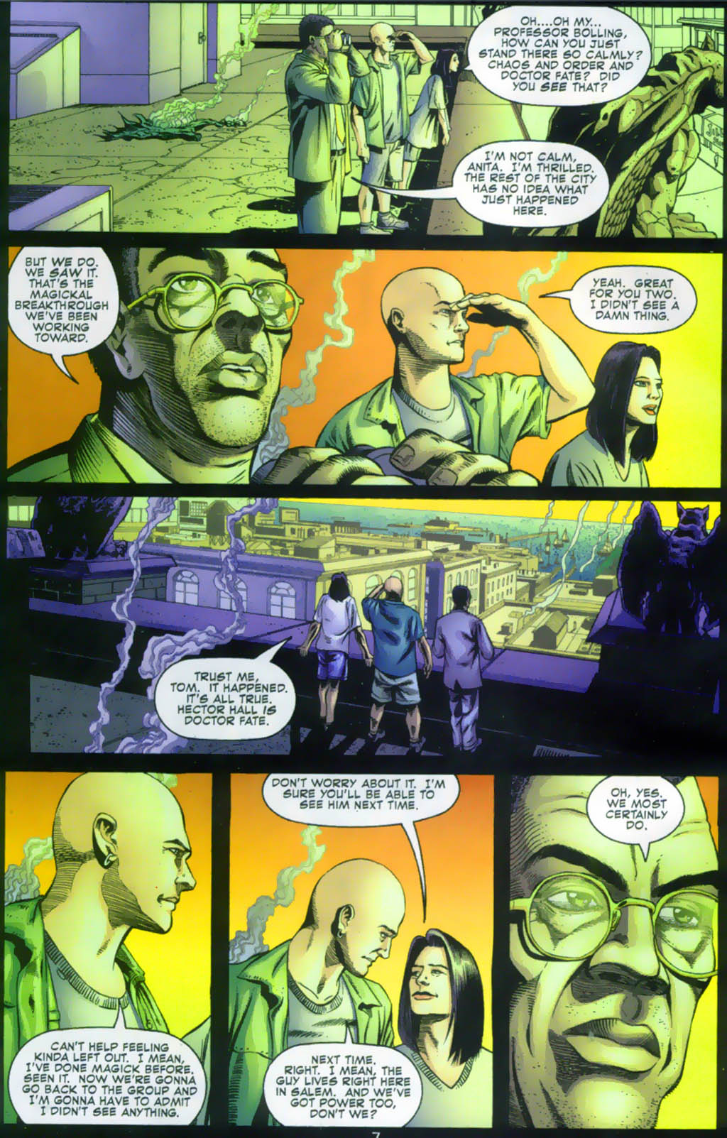 Read online Doctor Fate (2003) comic -  Issue #1 - 7
