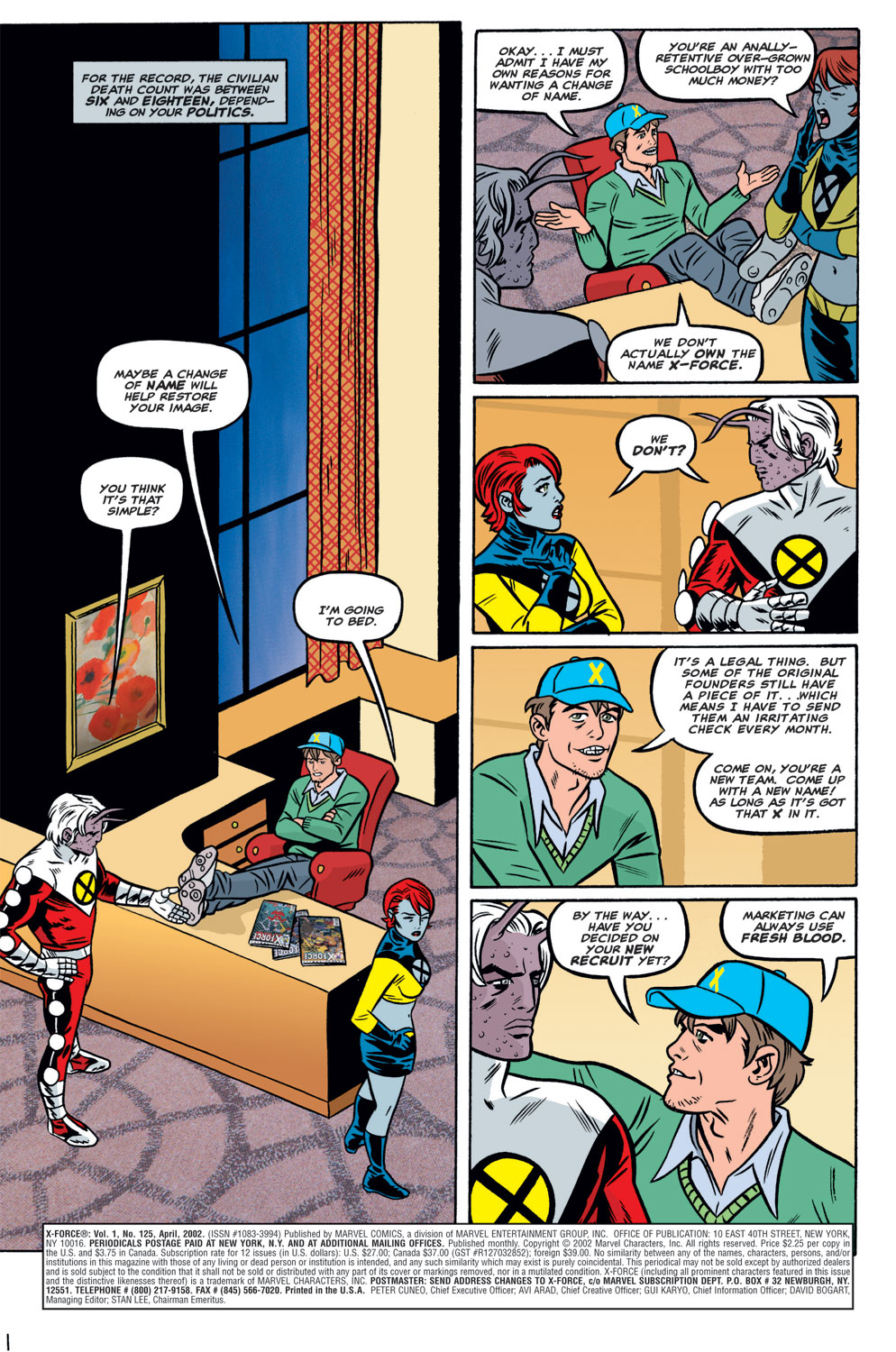 Read online X-Force (1991) comic -  Issue #125 - 5