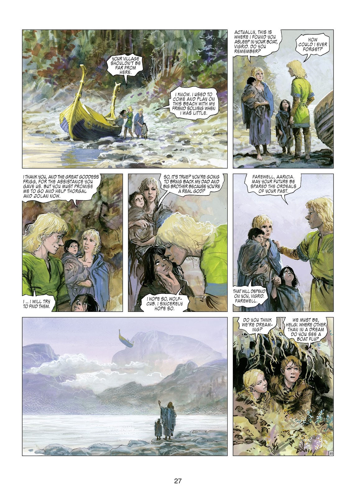 Read online Thorgal comic -  Issue #21 - 29