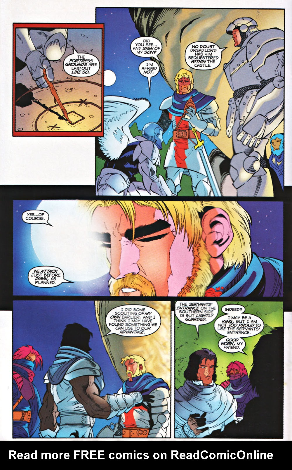 Read online Avataars: Covenant of the Shield comic -  Issue #3 - 5