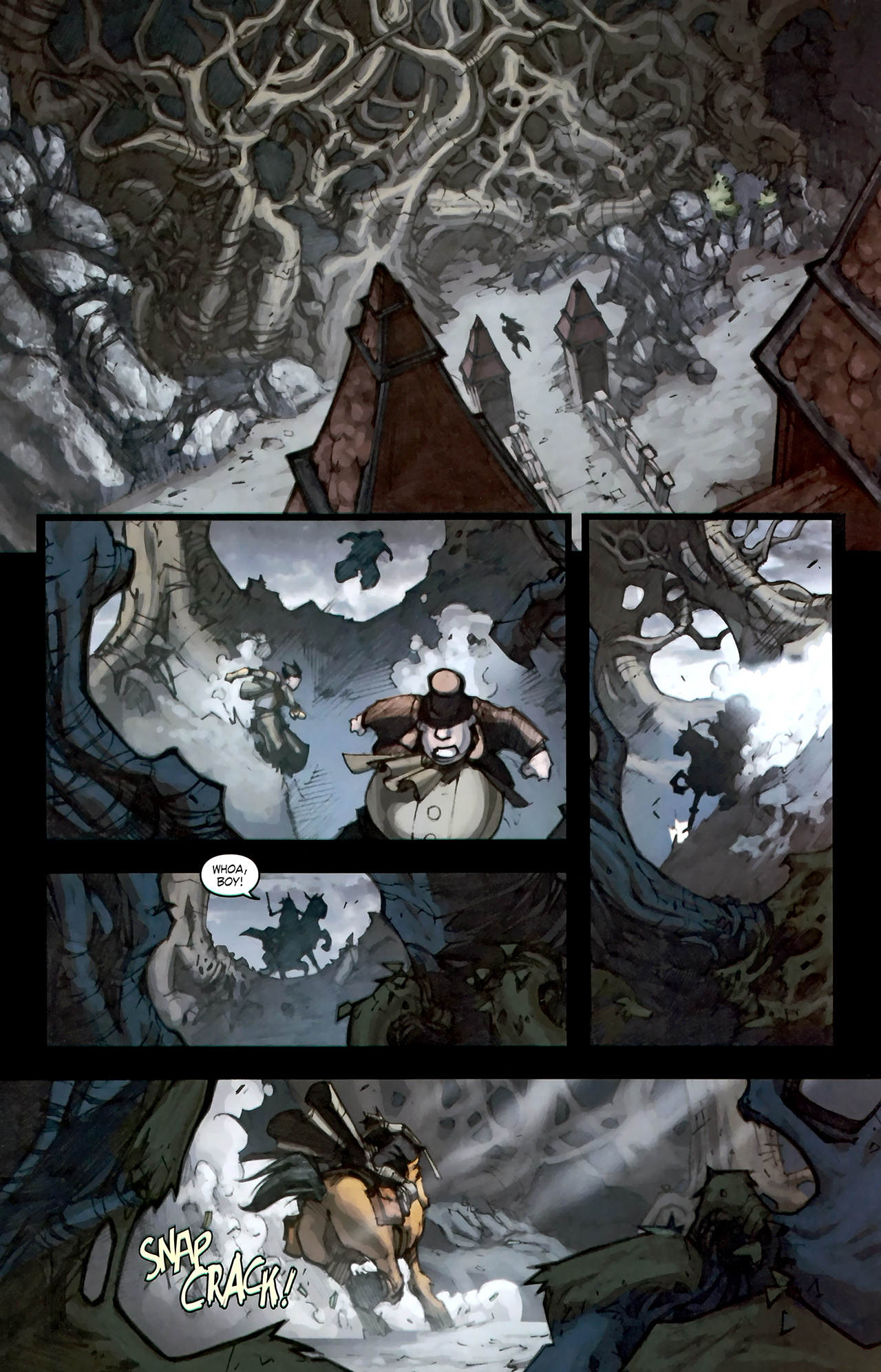 Read online World of Warcraft: Curse of the Worgen comic -  Issue #1 - 13
