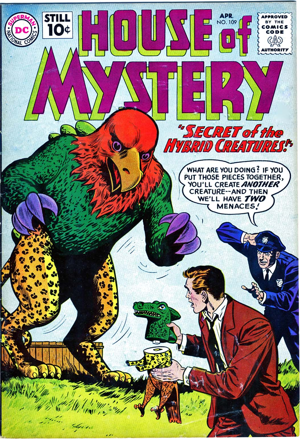 House of Mystery (1951) issue 109 - Page 1