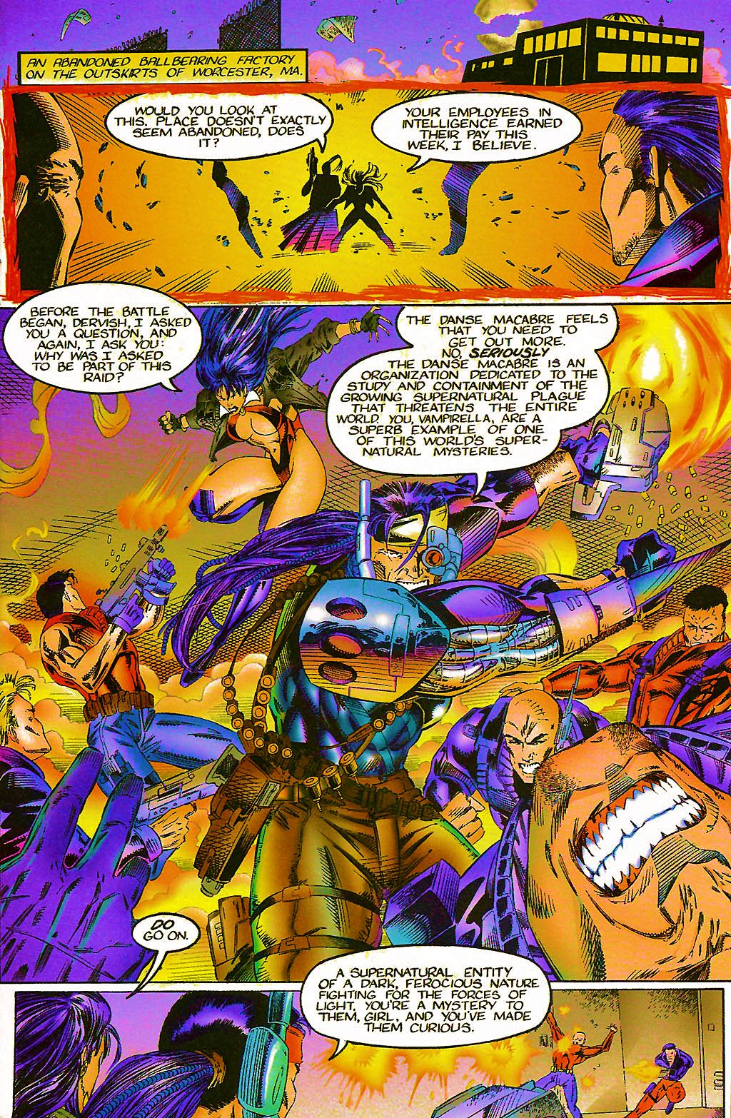 Read online Chains of Chaos comic -  Issue #1 - 7