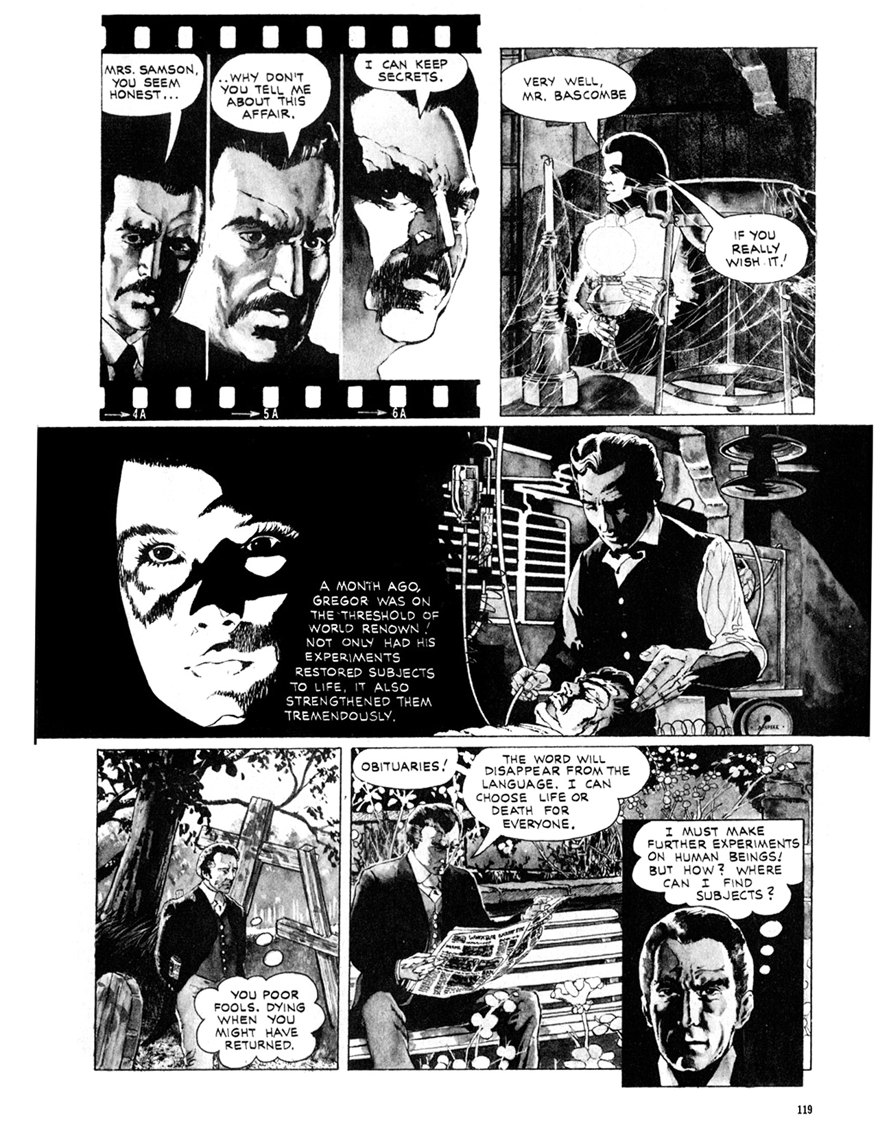Read online Eerie Archives comic -  Issue # TPB 10 - 120