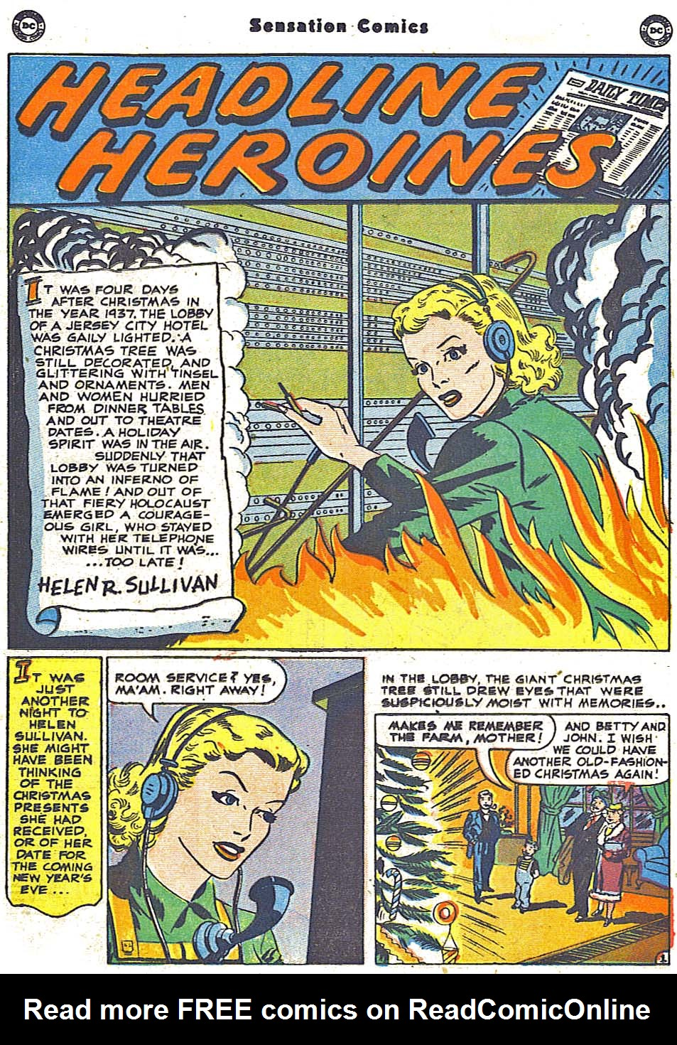 Read online Sensation (Mystery) Comics comic -  Issue #96 - 29